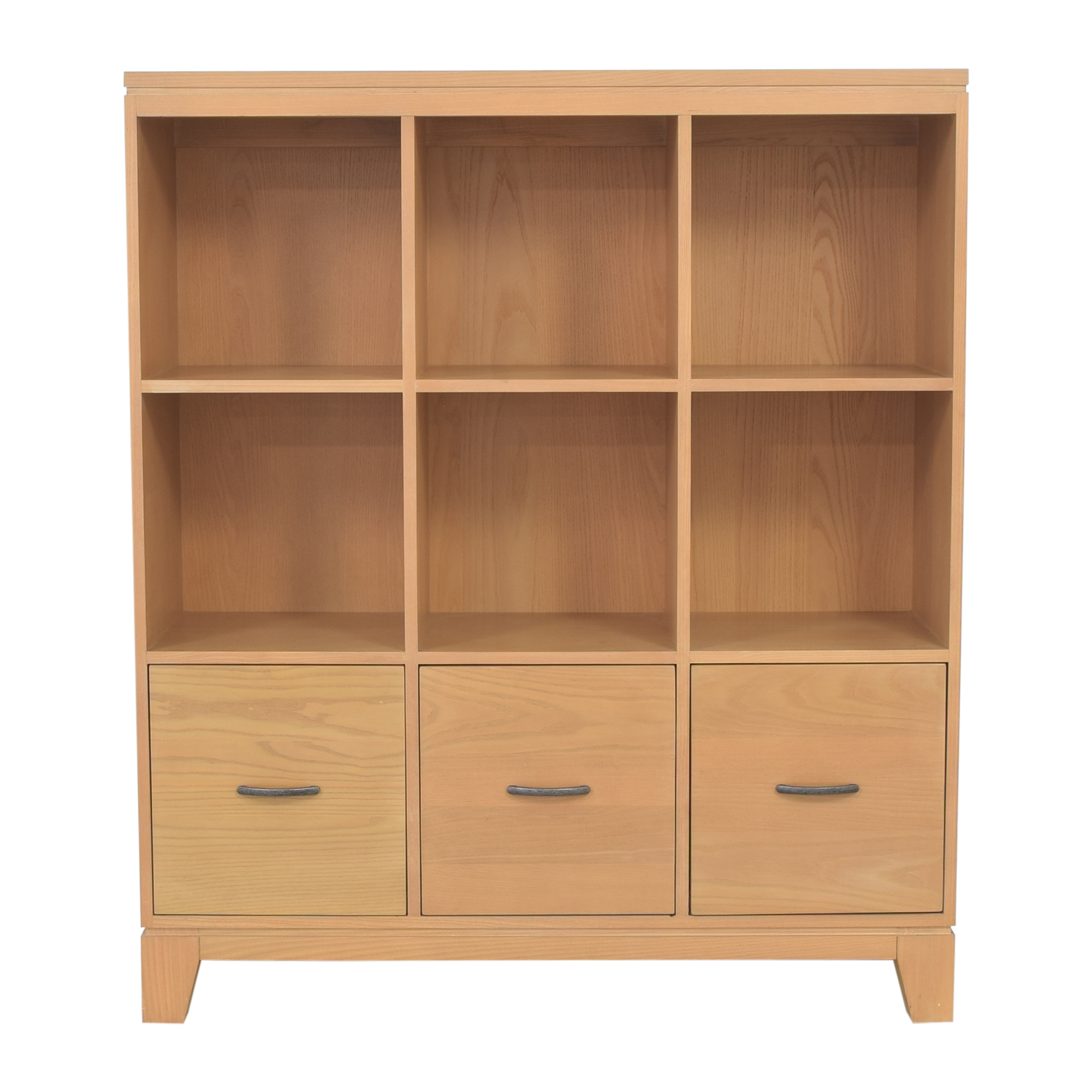 Ethan Allen Ethan Allen Bookcase with Filing Cabinets nyc