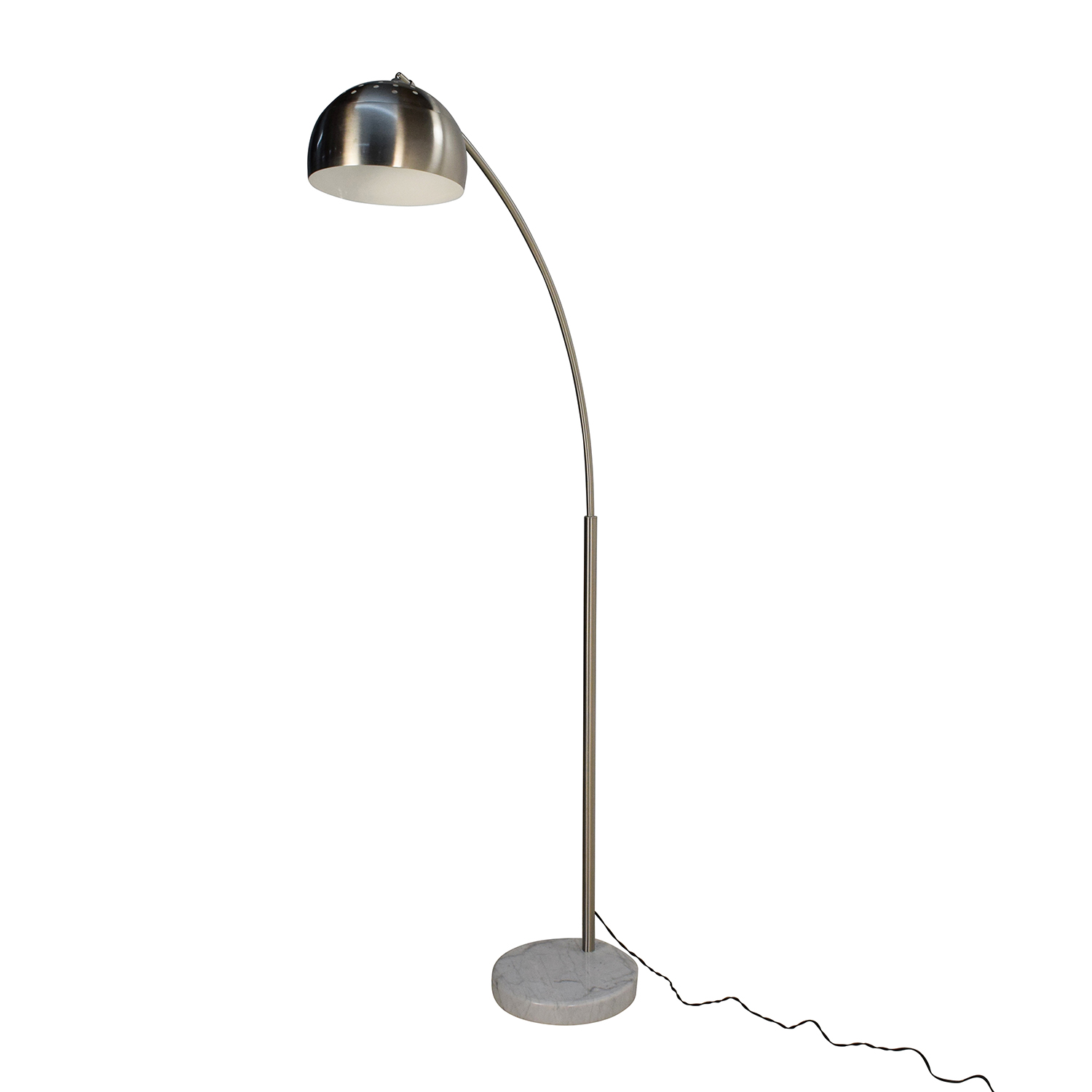 40 off overstock overstock arch 1 silver floor lamp decor for Overstock silver floor lamp