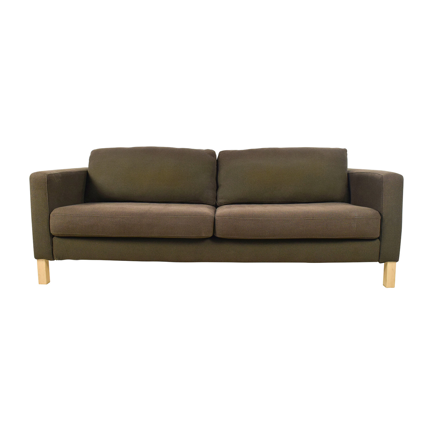 50 Off Ikea Ikea Brown Woven Sofa Sofas