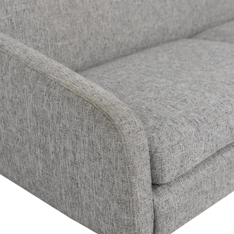 buy West Elm Pascale Modern Sofa West Elm Classic Sofas