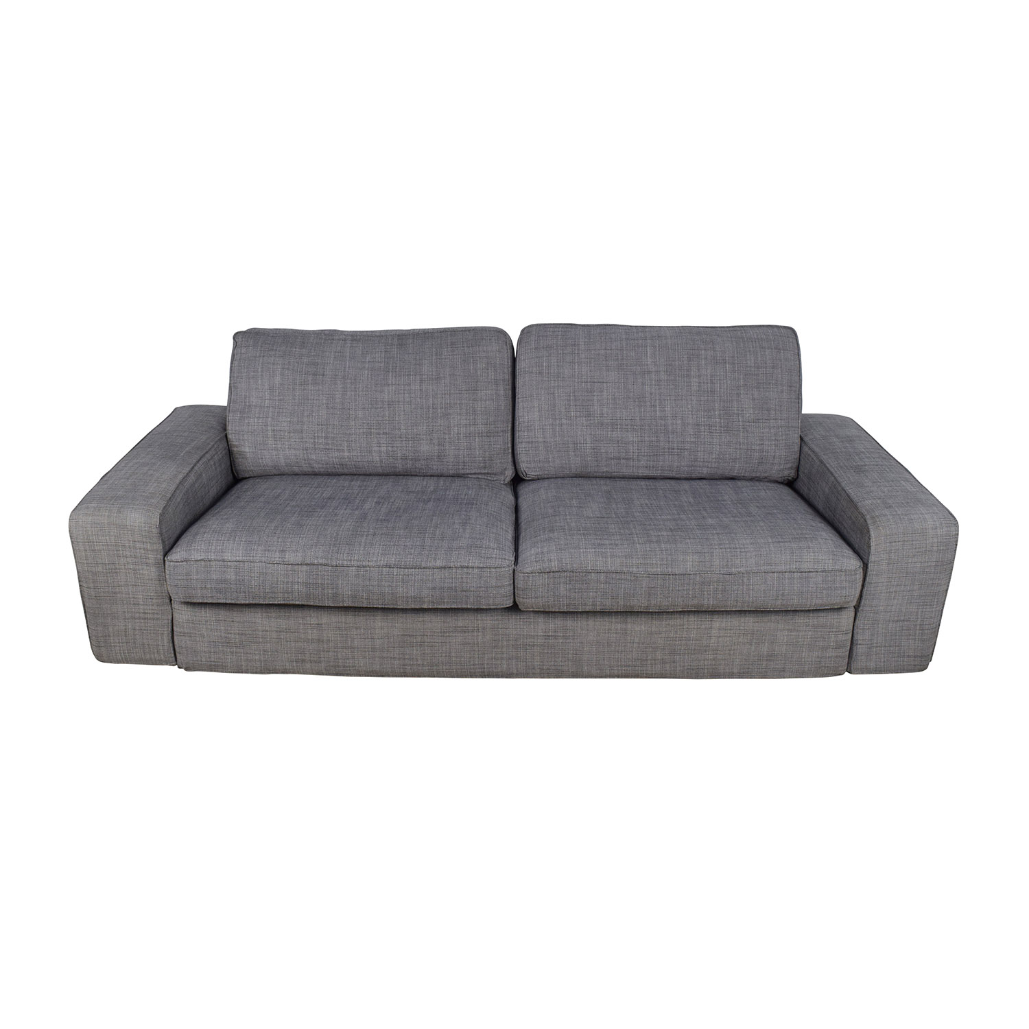 38 off ikea ikea kivik gray sofa sofas for Kivik chaise ikea