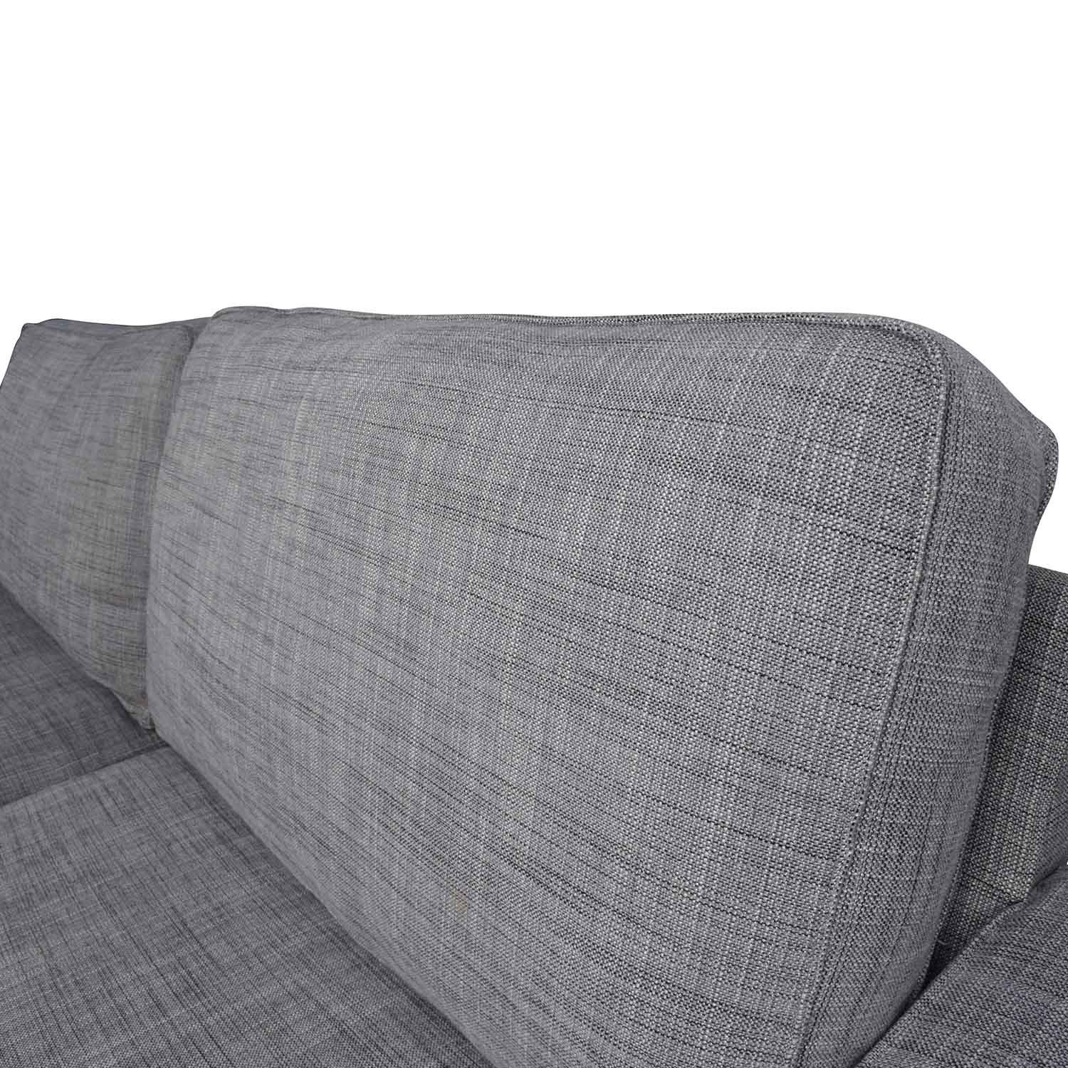 38 off ikea ikea kivik gray sofa sofas for Ikea gray sofa