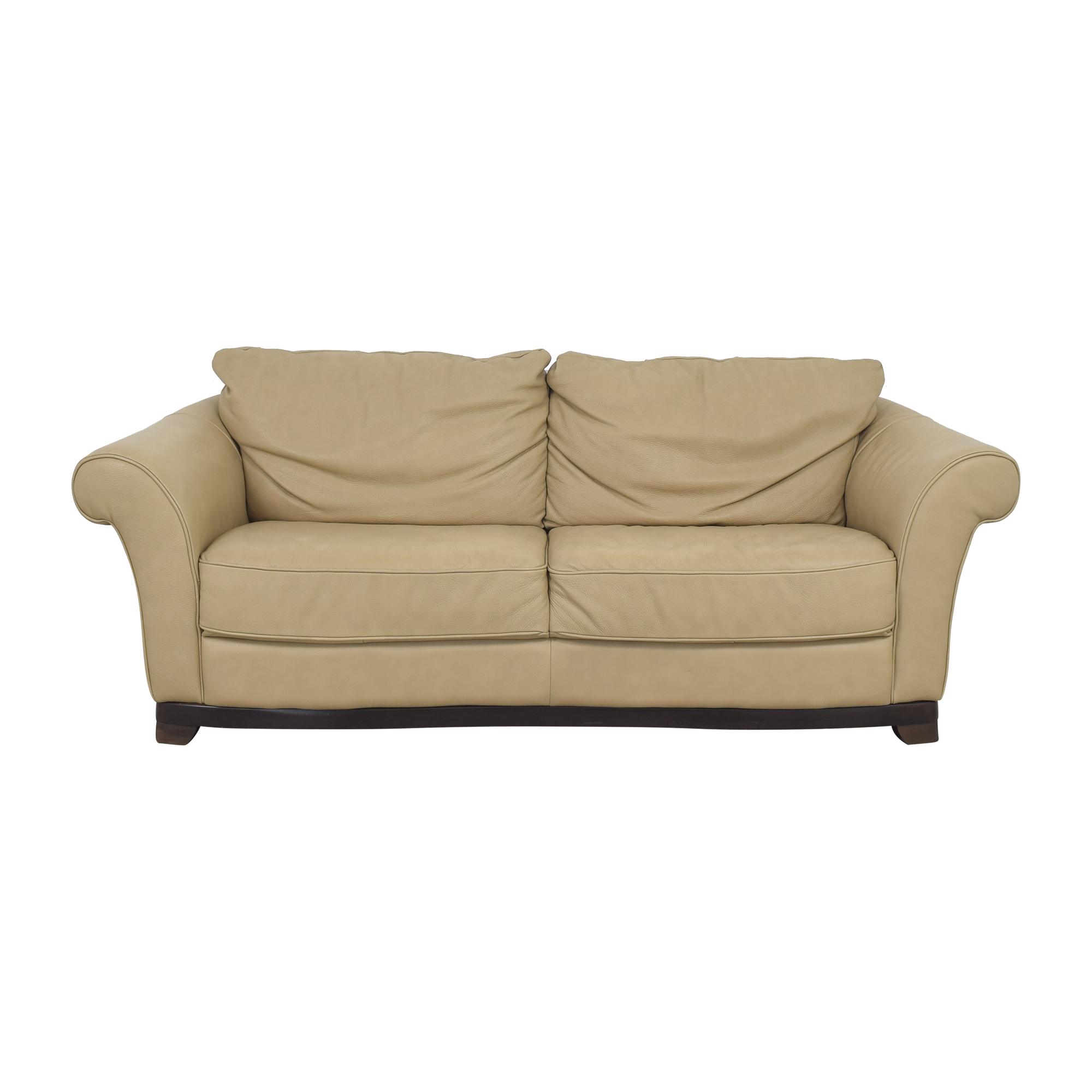 shop Natuzzi Two Cushion Loveseat Natuzzi Sofas