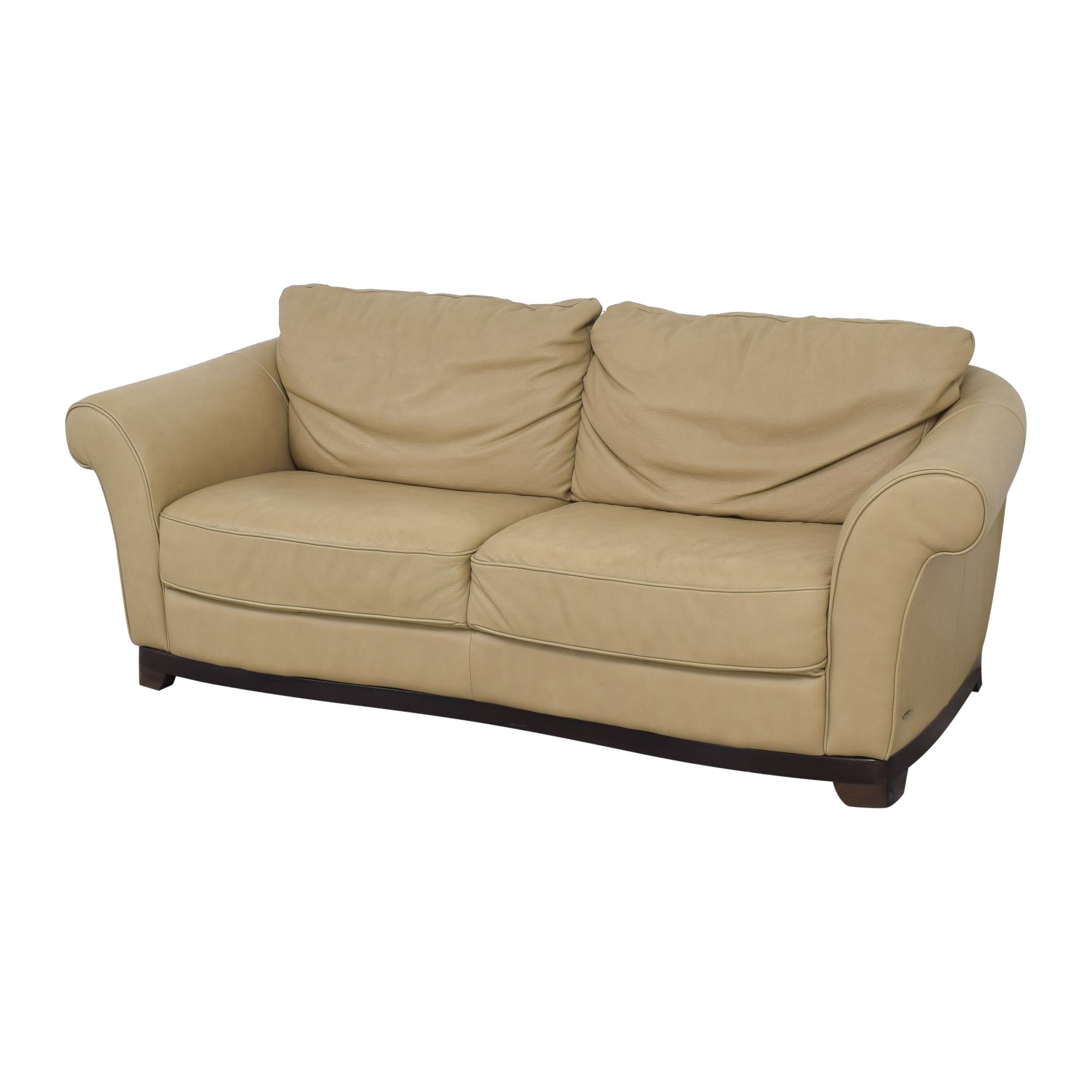 Natuzzi Natuzzi Two Cushion Loveseat pa