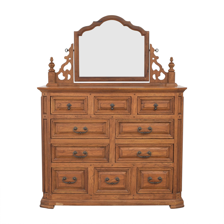 buy Thomasville Dresser with Mirror Thomasville Storage