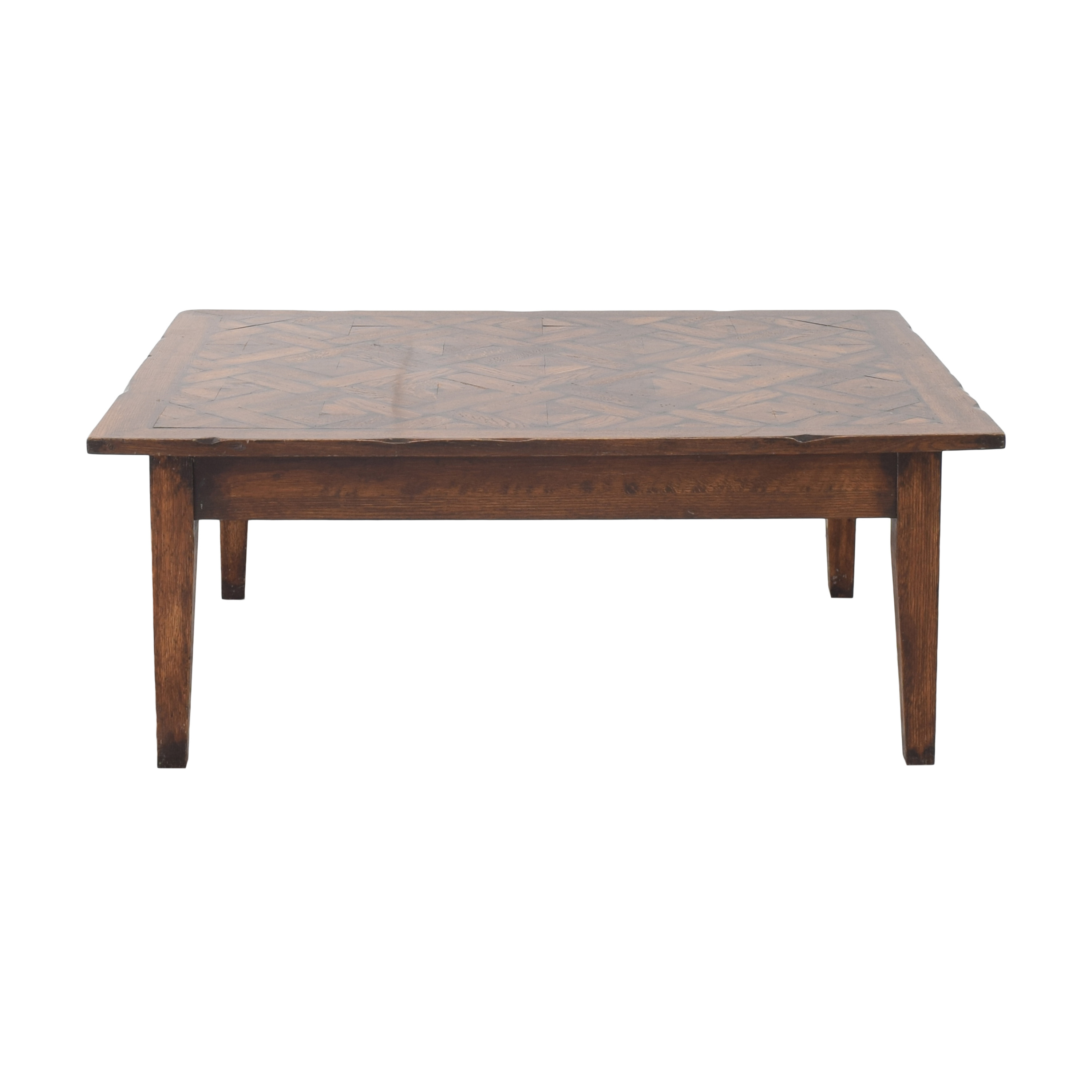buy G+J Styles Parquet Top Coffee Table G&J Styles