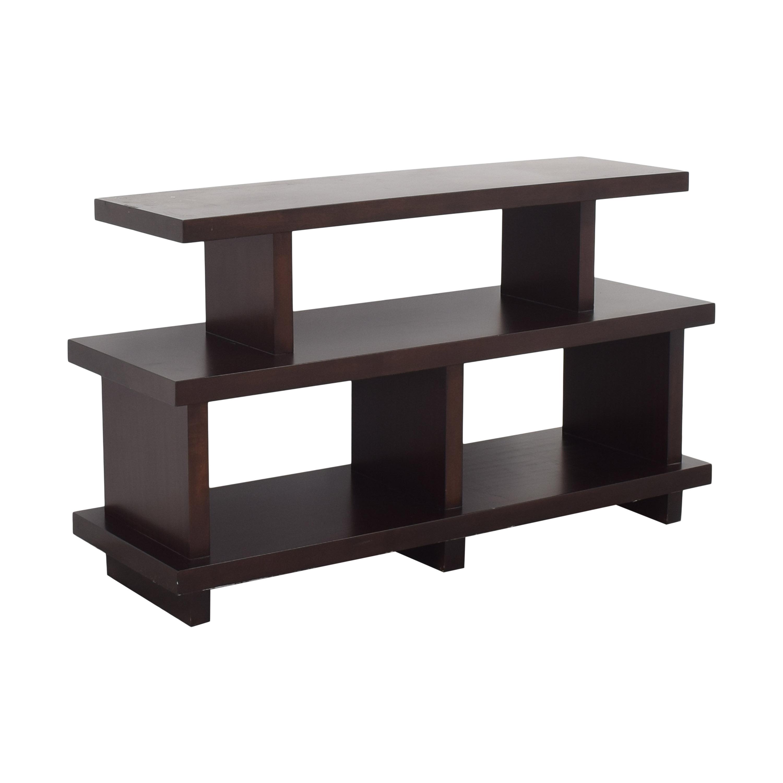 buy Bernhardt Park West Console Table Bernhardt Storage