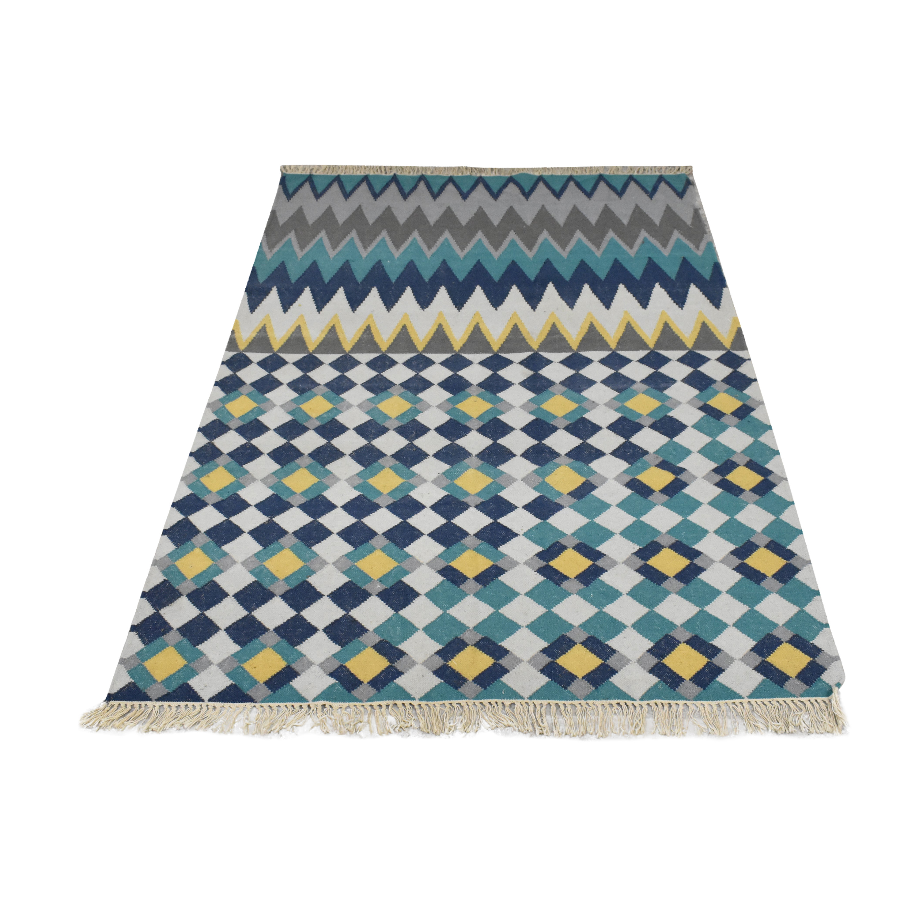 West Elm West Elm Wallace Sewell Chevron Dhurrie Rug coupon
