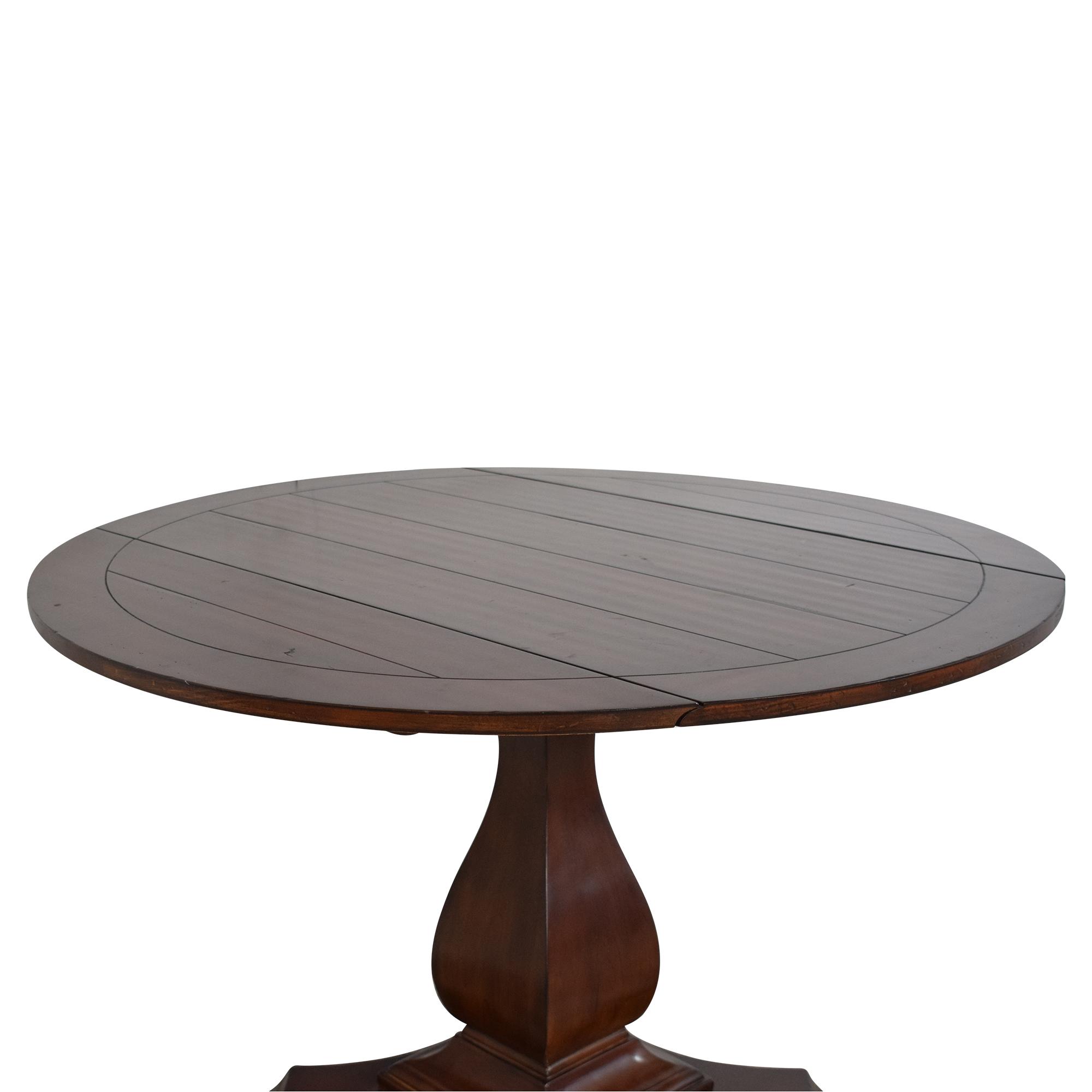 Hooker Furniture Hooker Furniture Waverly Drop Leaf Table dimensions
