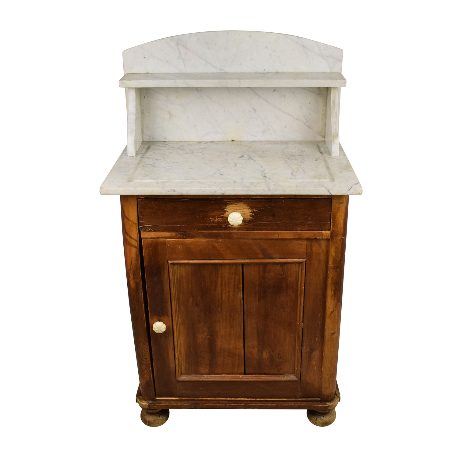 buy Evergreen Rustic Marble Topped Storage Cabinet Evergreen Utility Tables
