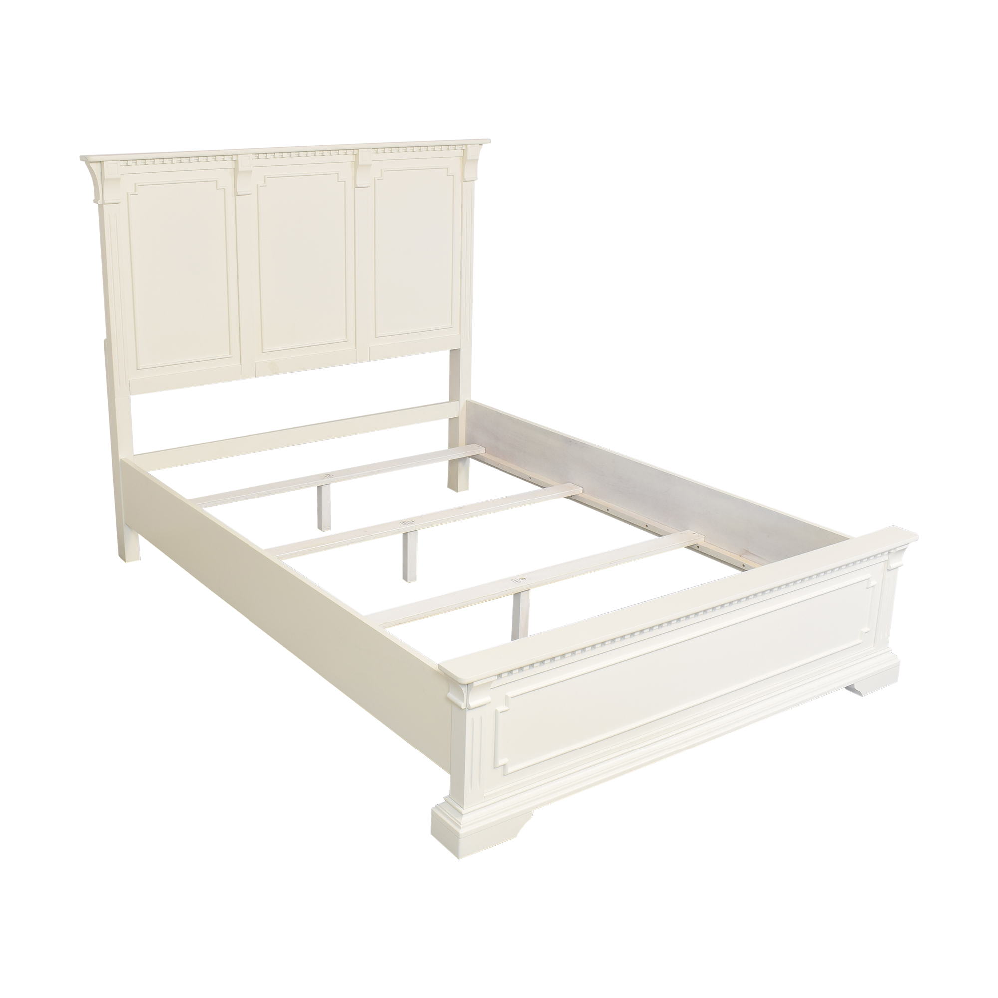 shop Raymour & Flanigan Angelina Queen Panel Bed Raymour & Flanigan Beds