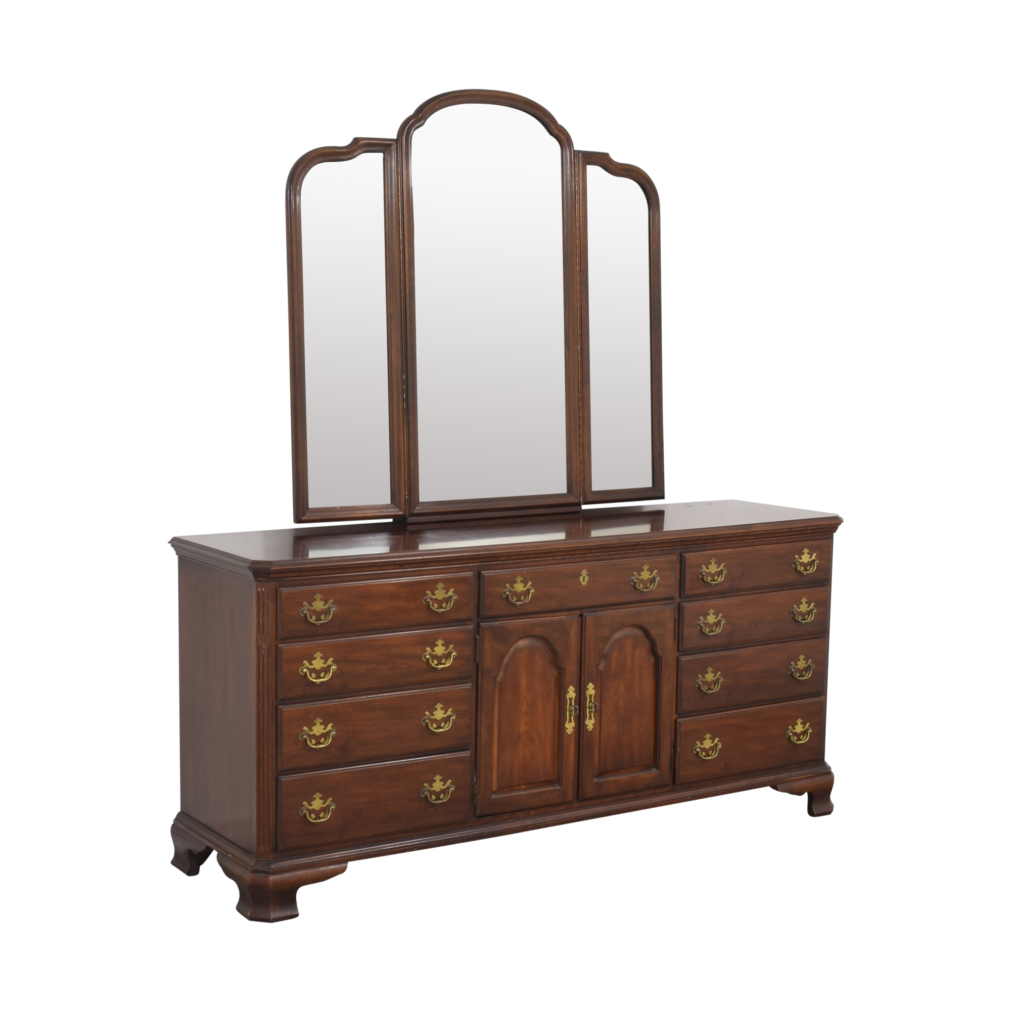 shop Drexel Drexel Triple Dresser with Trifold Mirror online