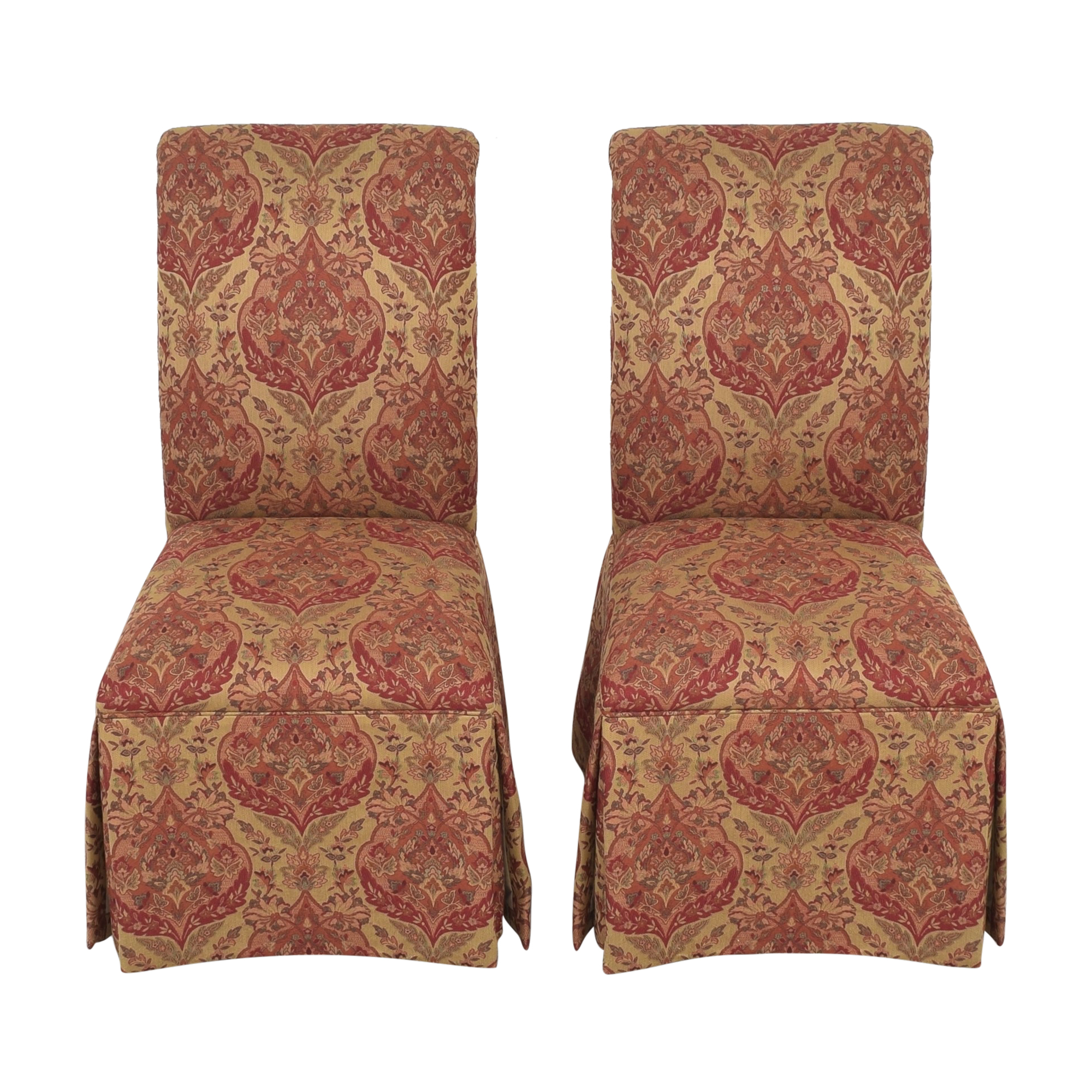 Ethan Allen Ethan Allen Olivia Skirted Side Chairs Chairs