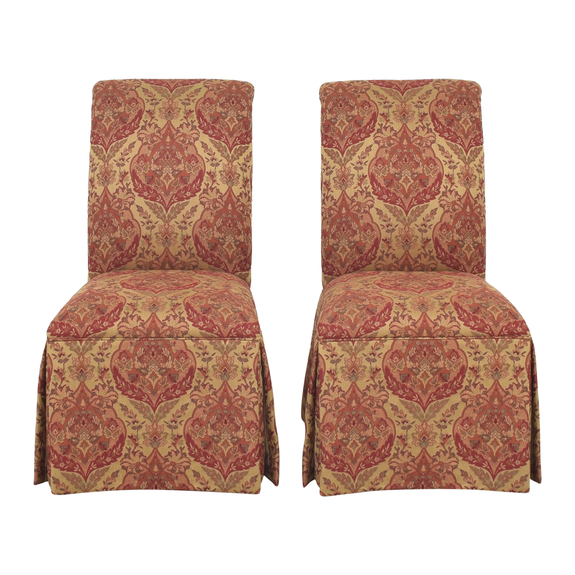 Ethan Allen Ethan Allen Olivia Skirted Side Chairs ma