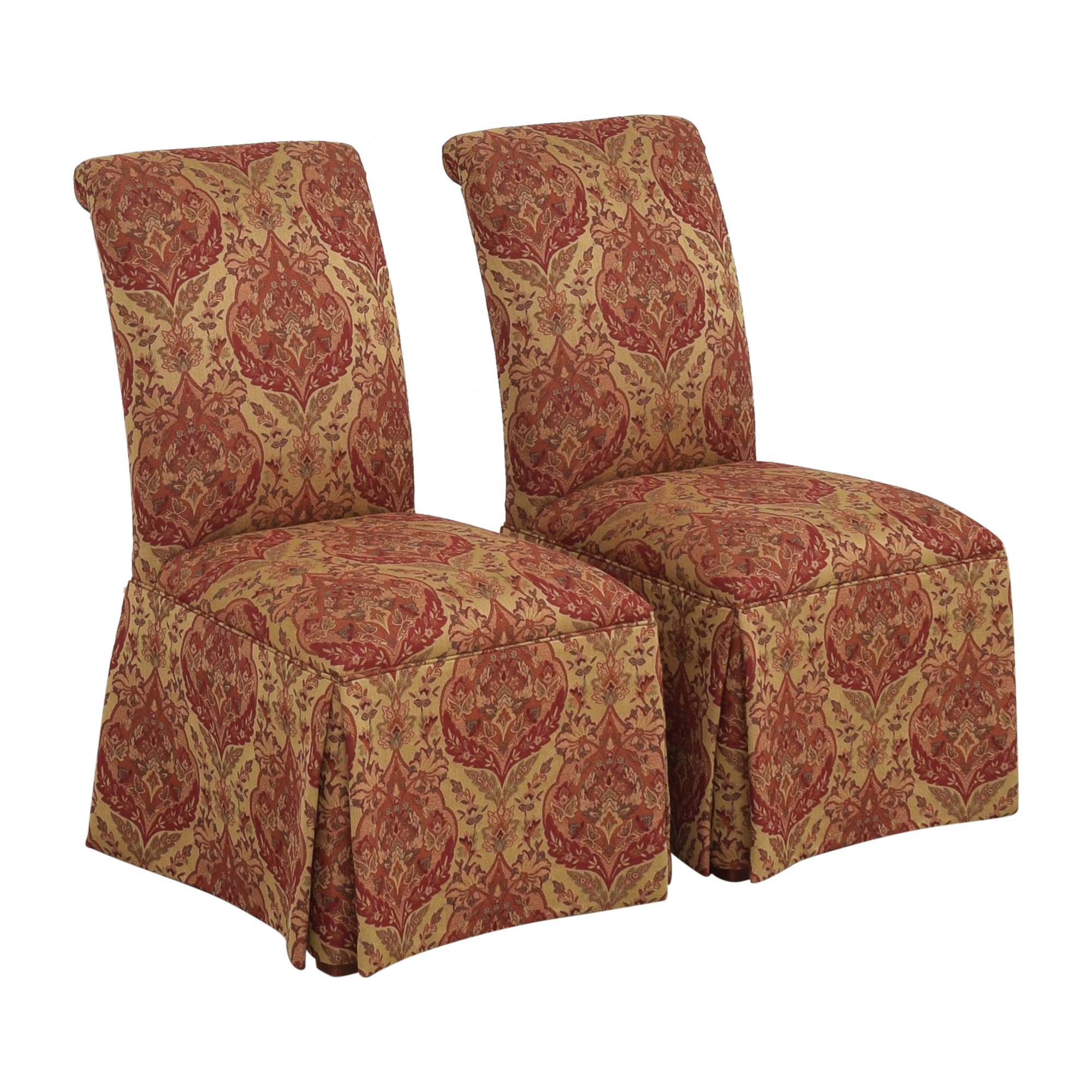 Ethan Allen Ethan Allen Olivia Skirted Side Chairs