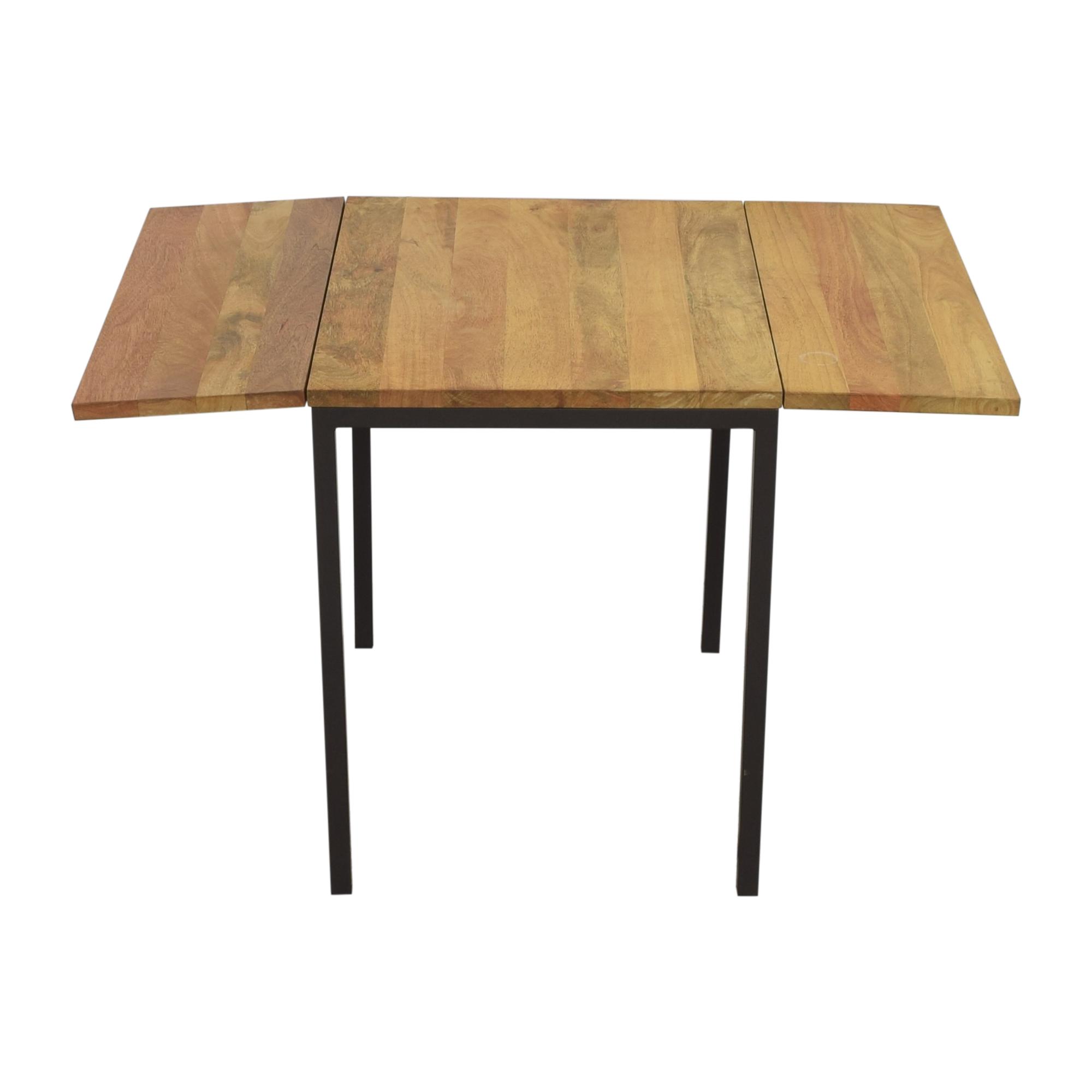 West Elm West Elm Box Frame Drop Leaf Expandable Table price
