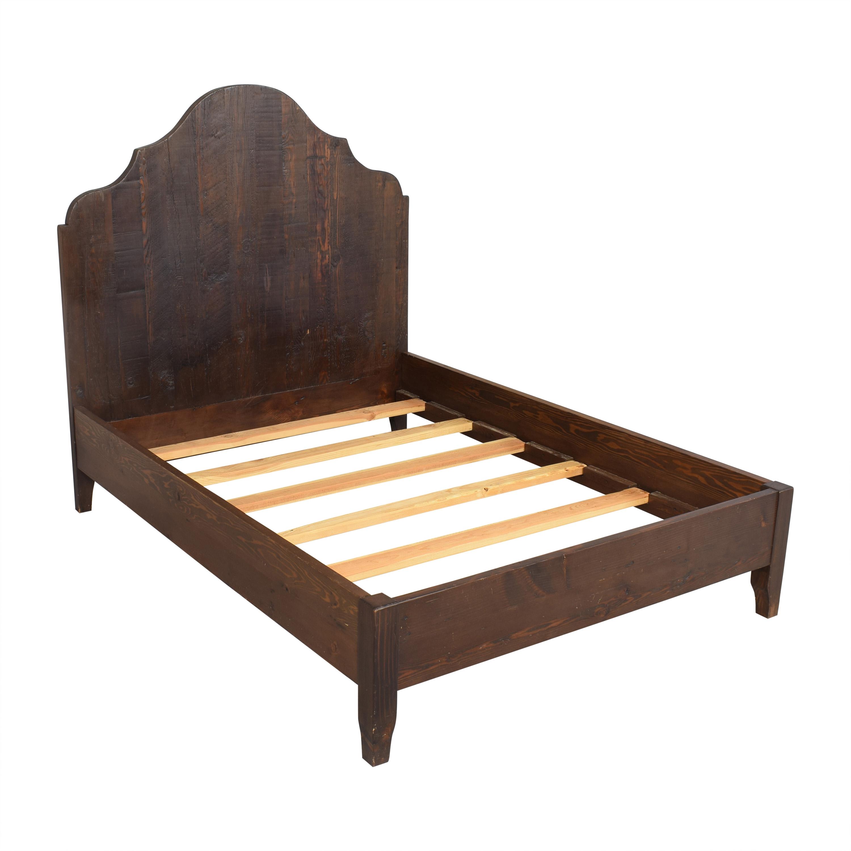 shop VivaTerra Vintage Fir Global Gustavian Queen Bed VivaTerra Bed Frames
