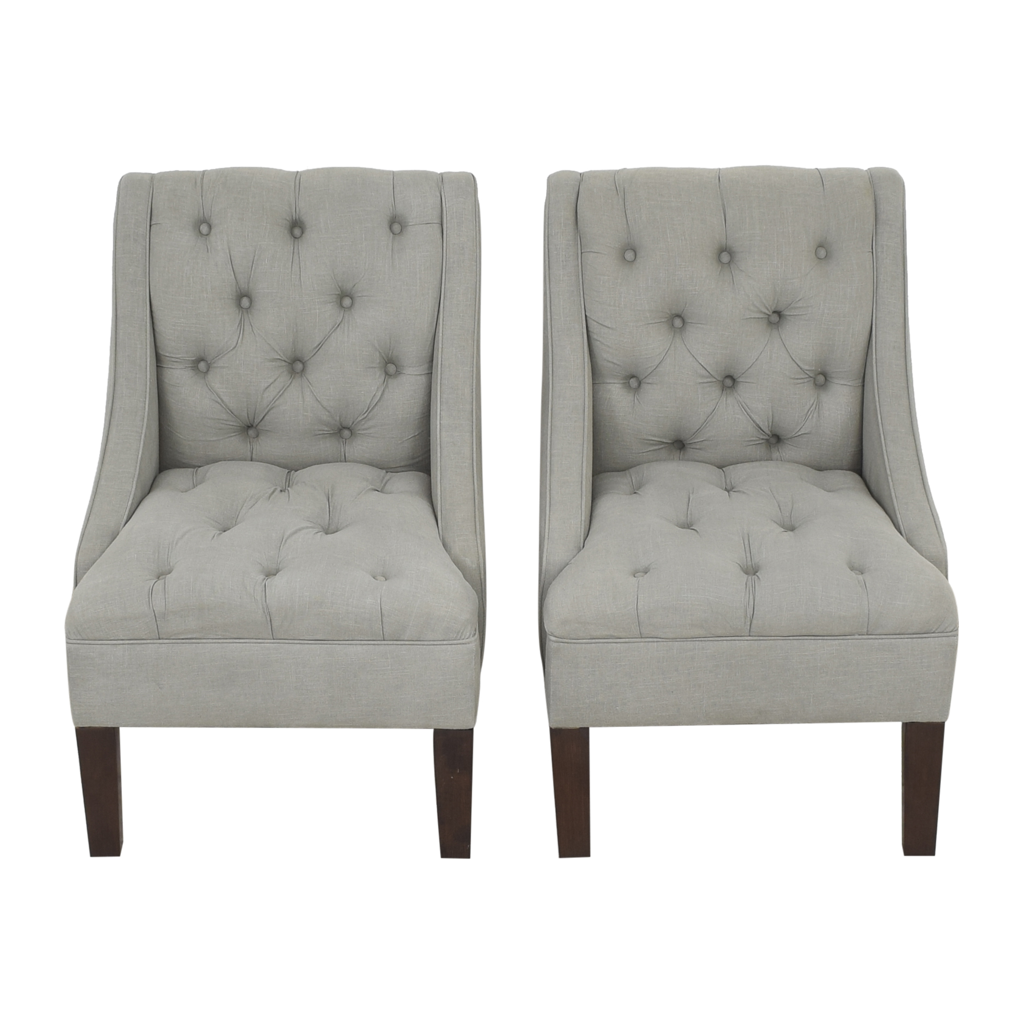 Skyline Furniture Tufted Dining Chairs Skyline Furniture