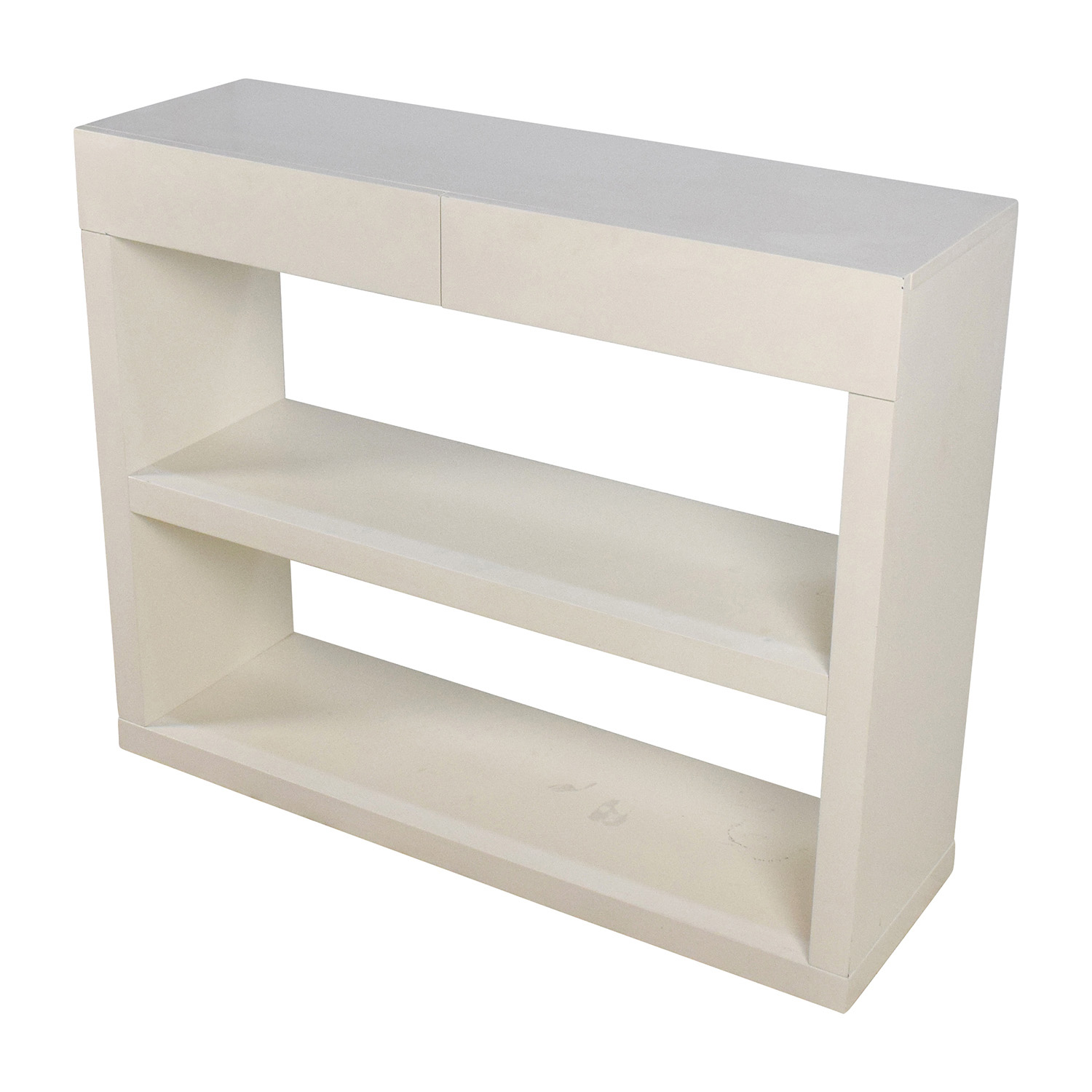 ... Shop West Elm West Elm Storage Console Media Stand With Drawers Online  ...