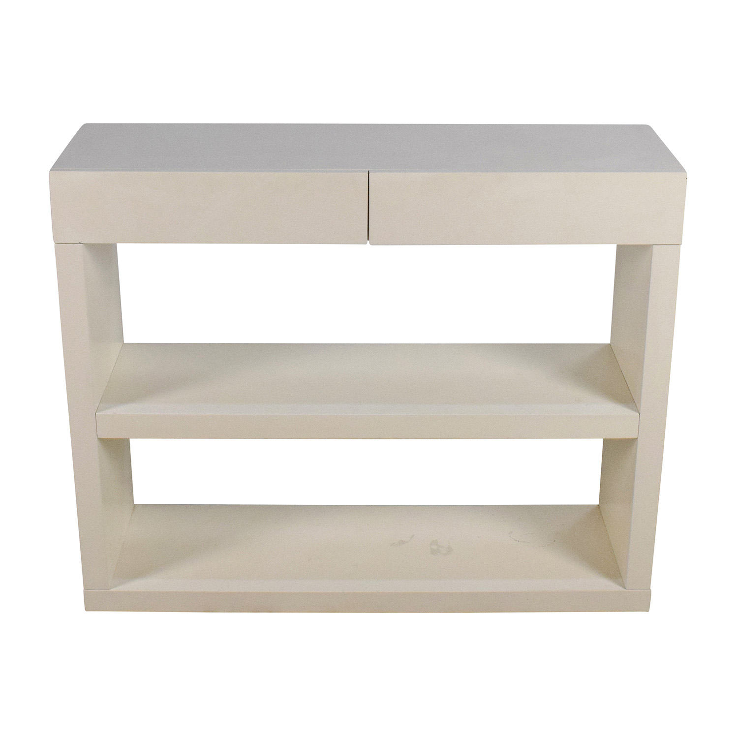 buy West Elm Storage Console Media Stand with Drawers West Elm Storage