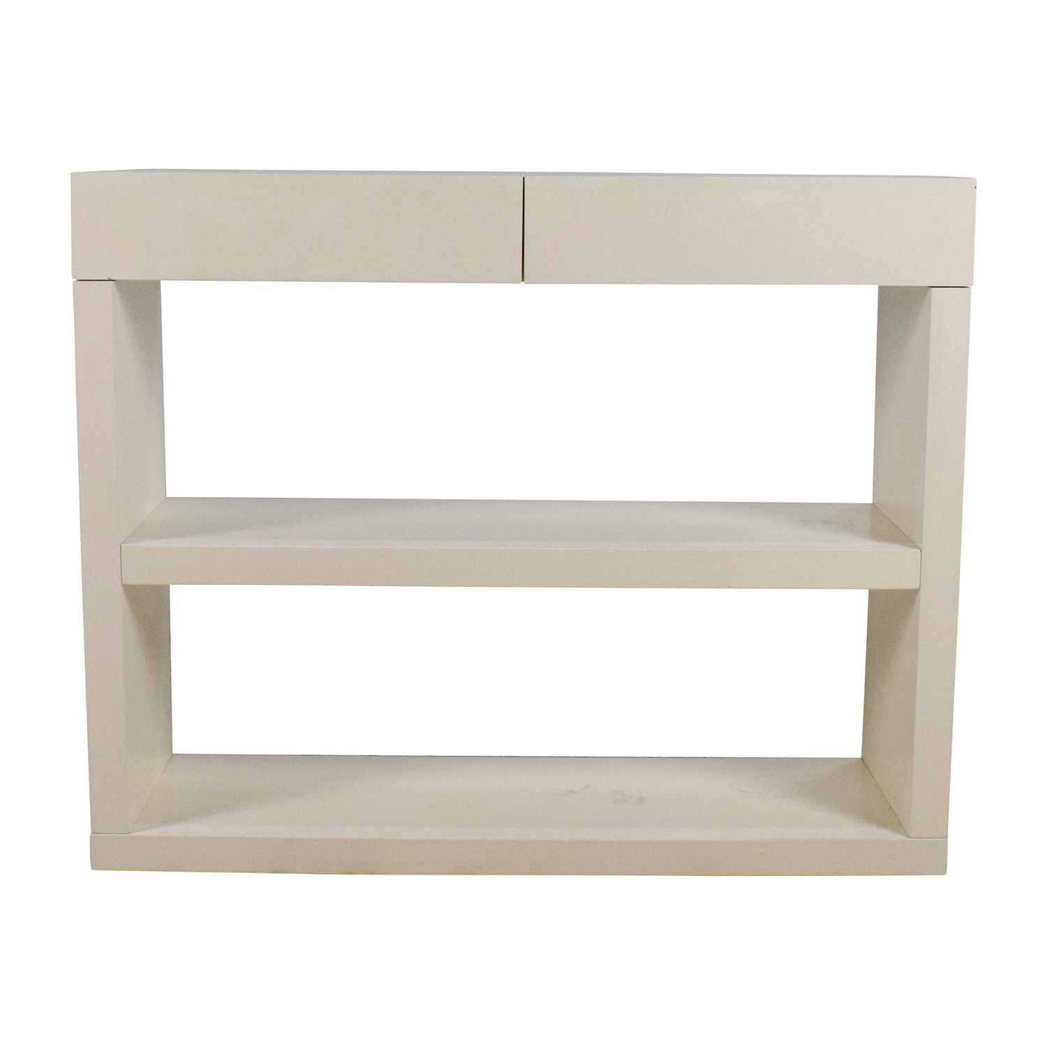 West Elm Storage Console Media Stand With Drawers / Storage ...