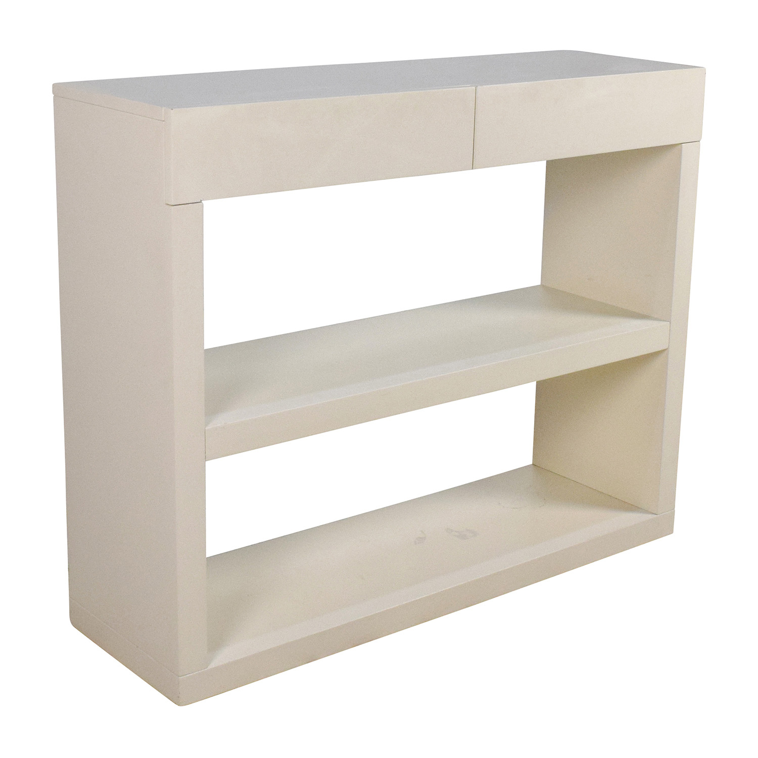... Shop West Elm Storage Console Media Stand With Drawers West Elm ...