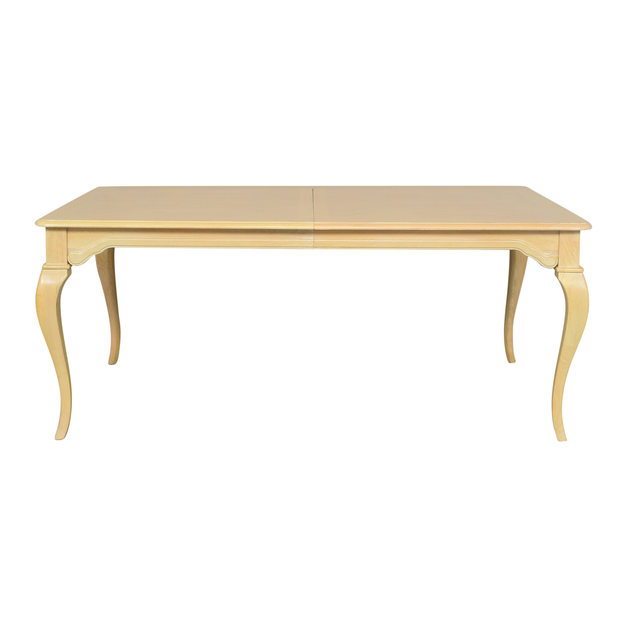 Thomasville Thomasville Queen Anne Extendable Dining Table on sale