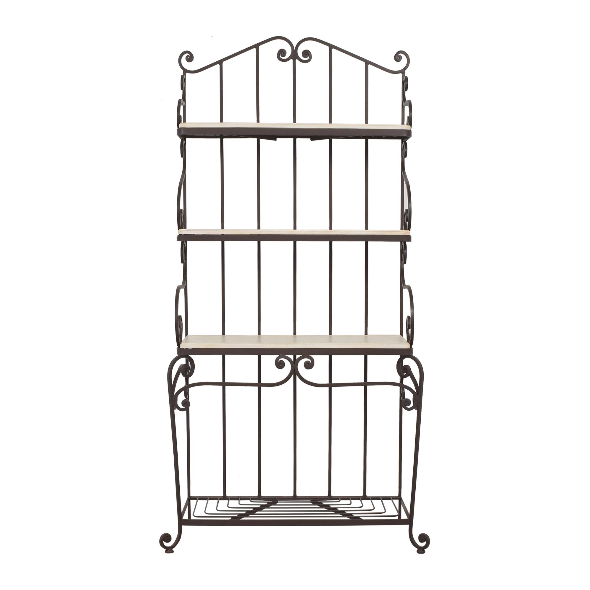 buy Three Tier Baker's Rack  Bookcases & Shelving
