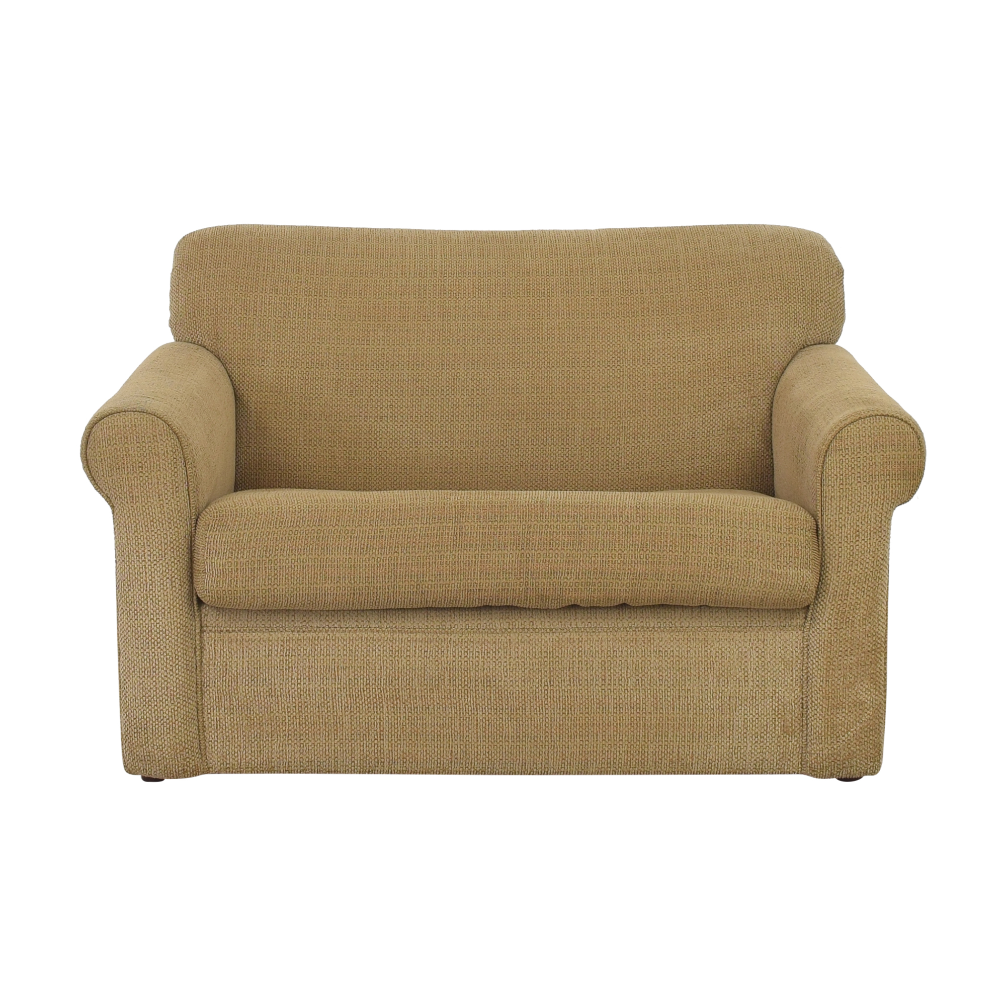 Raymour & Flanigan Raymour & Flanigan Luann Twin Sleeper Sofa for sale
