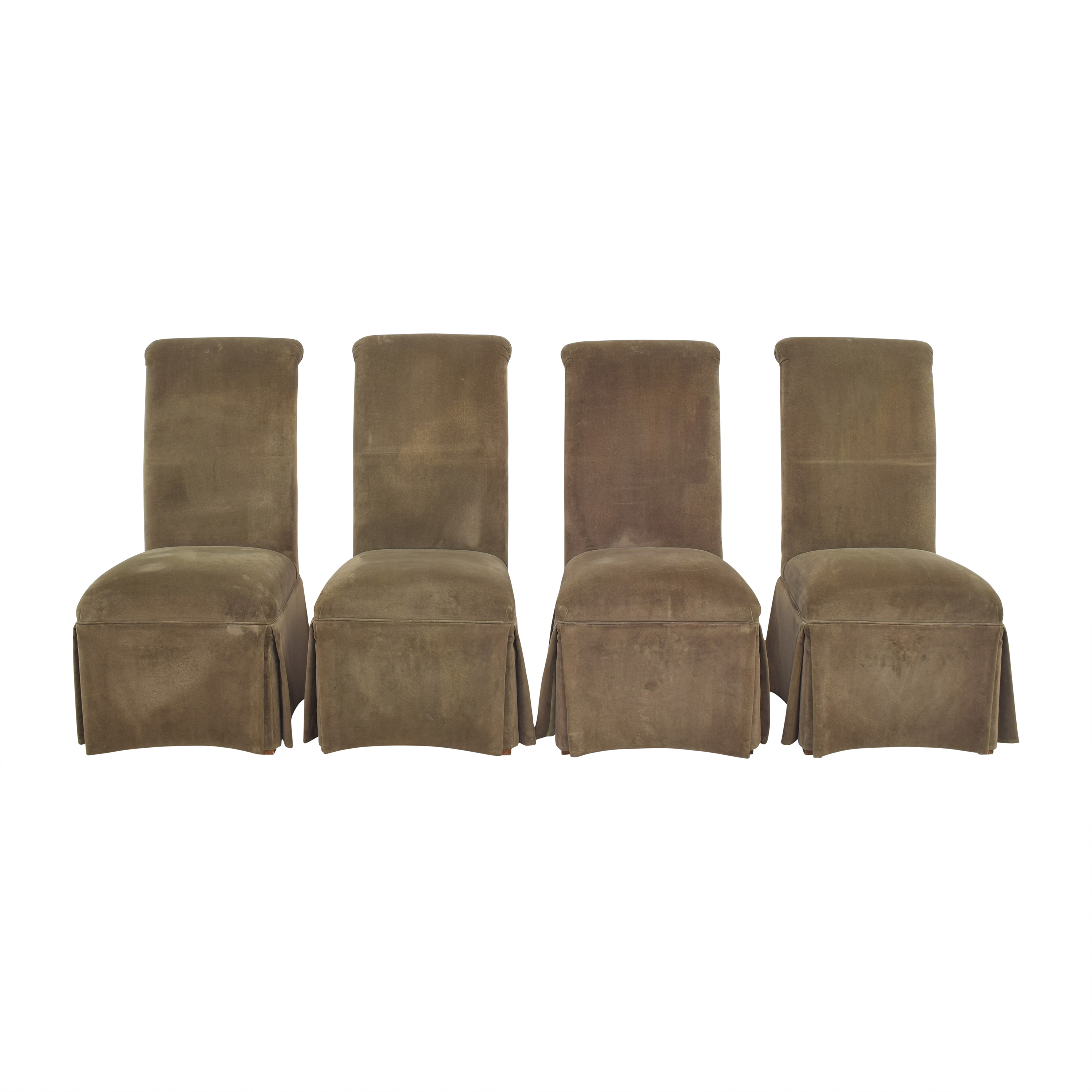 Domain Skirted Dining Chairs sale