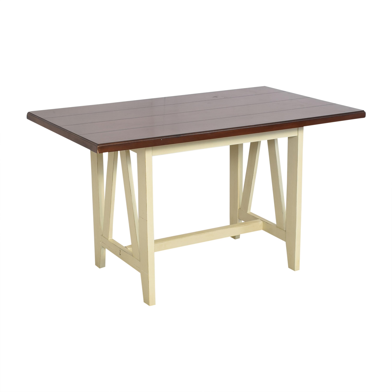Crate & Barrel Crate & Barrel Farmhouse Dining Table dimensions