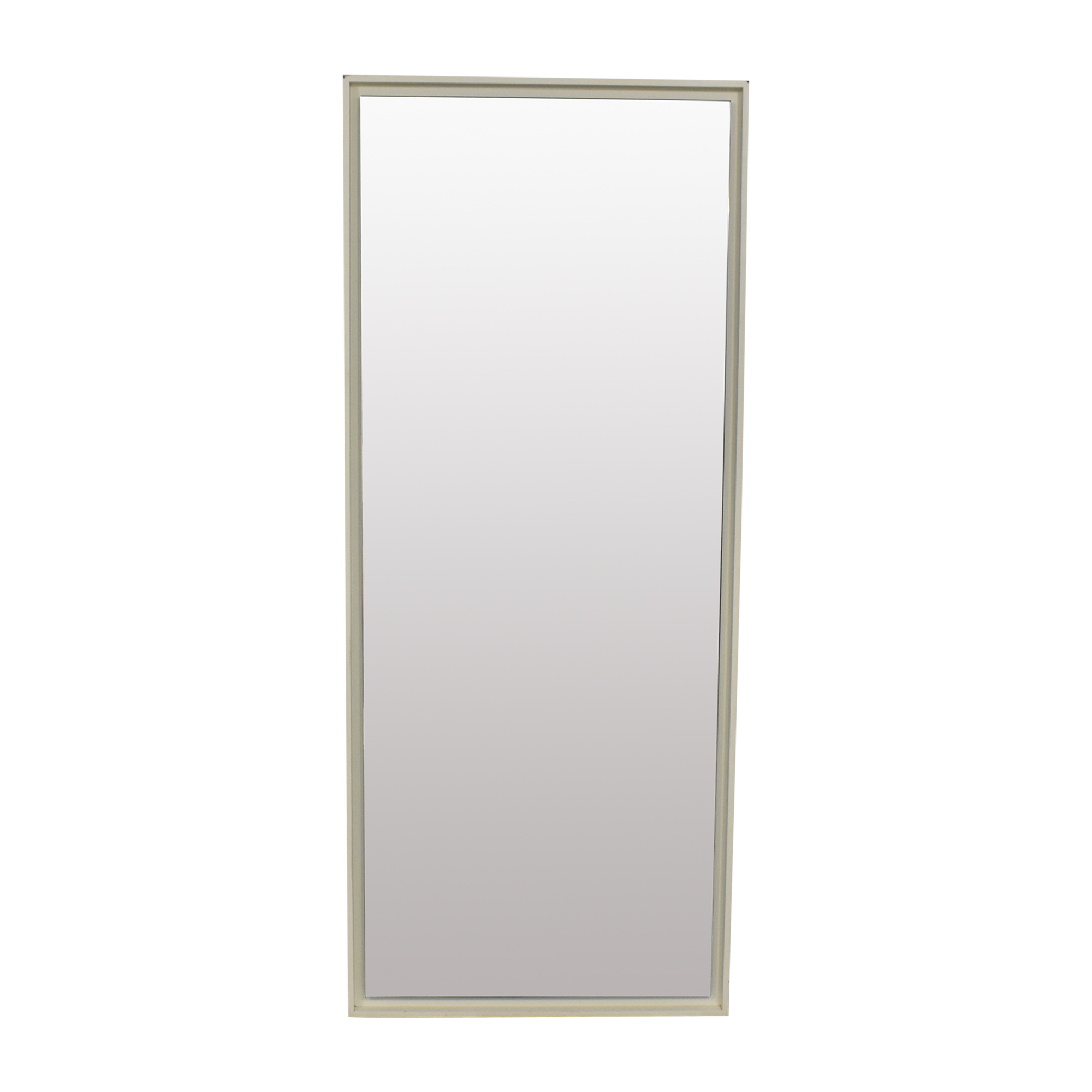 West Elm West Elm Floating Wood Floor Mirror price