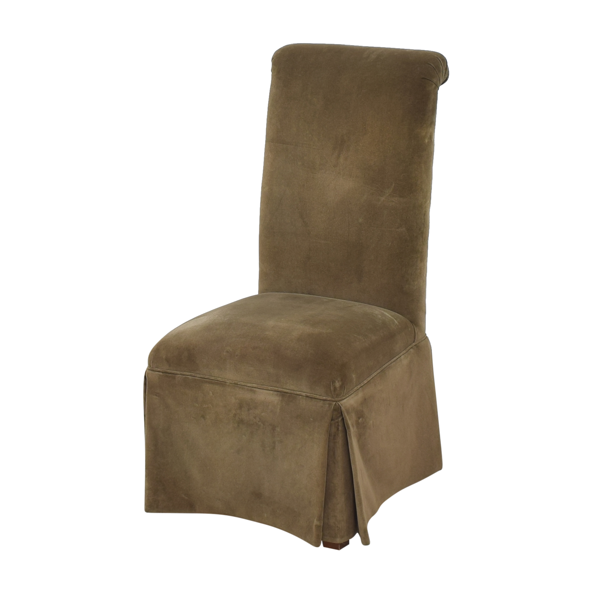 buy Domain Skirted Dining Chairs Domain