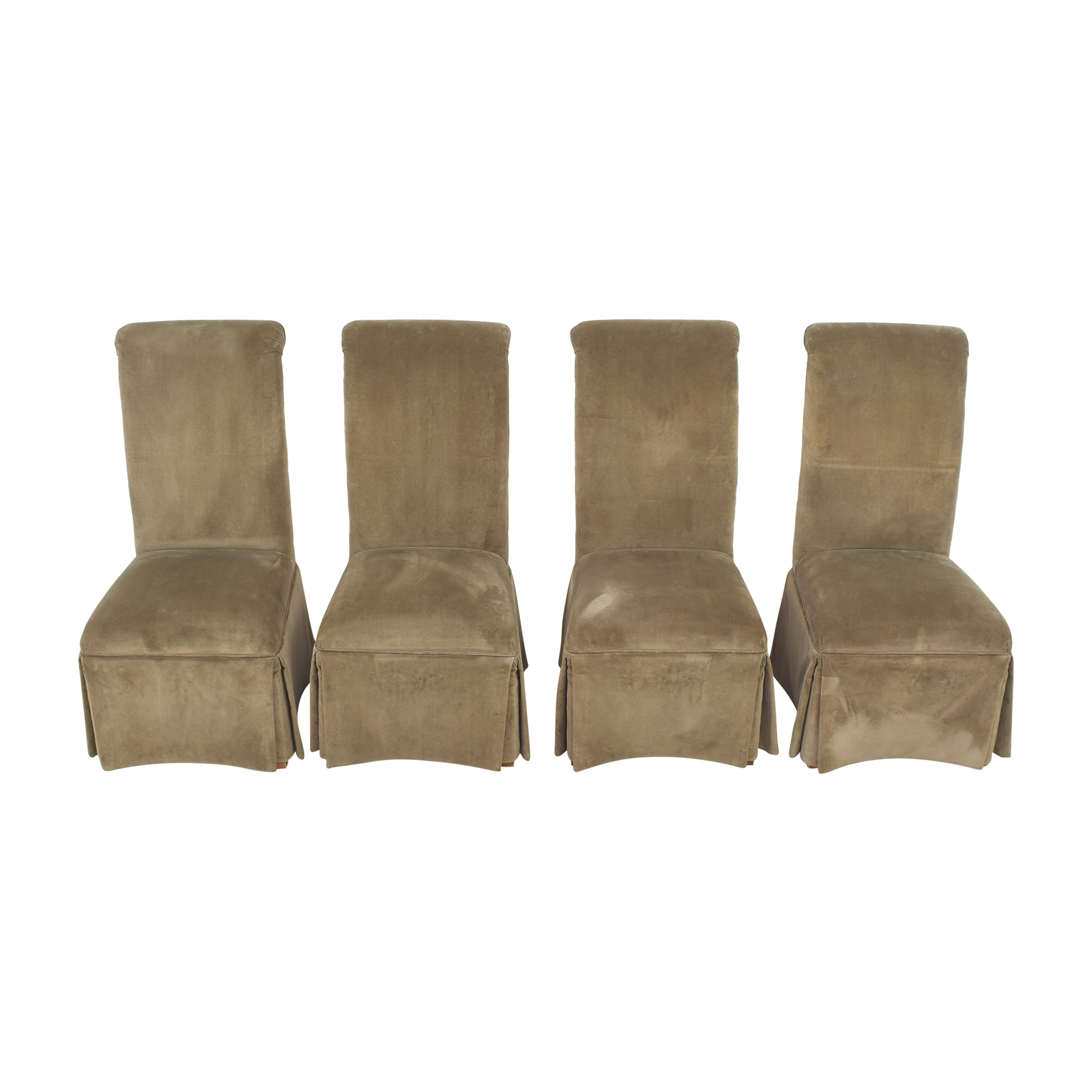 Domain Domain Skirted Dining Chairs on sale