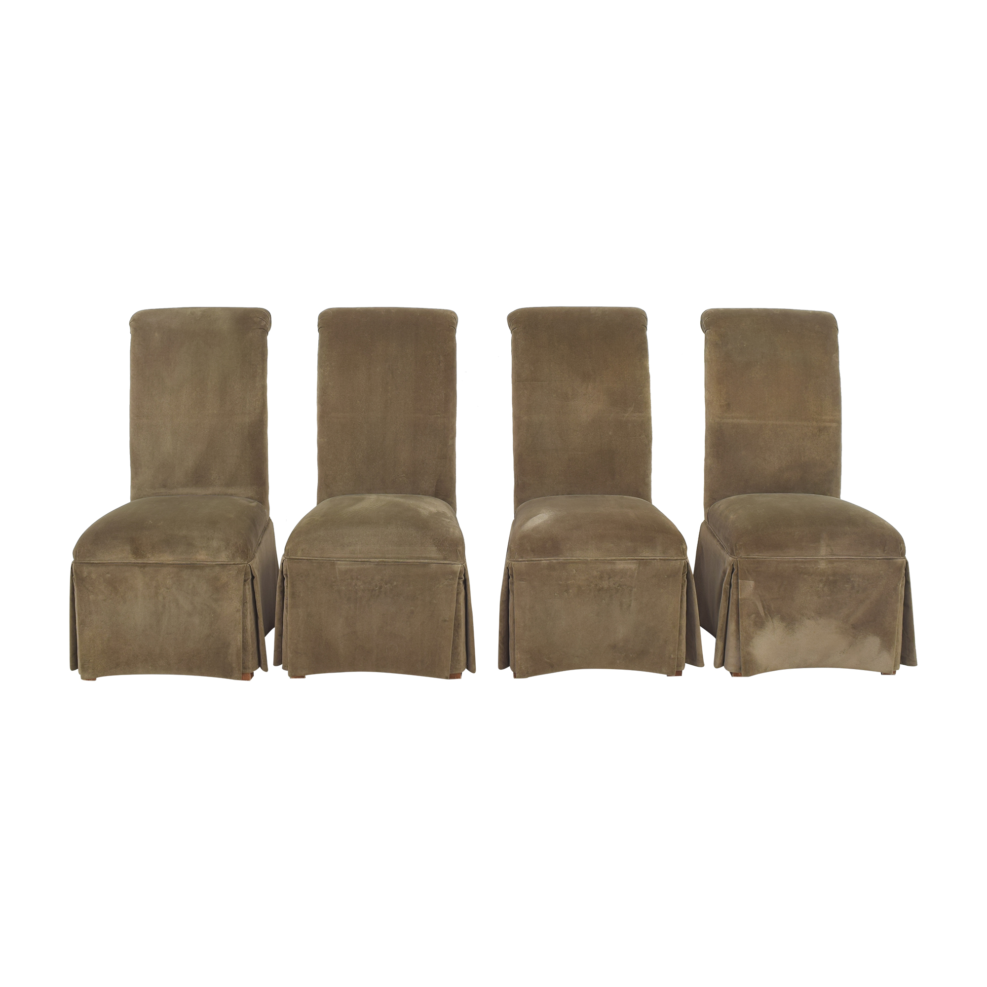 Domain Domain Skirted Dining Chairs used
