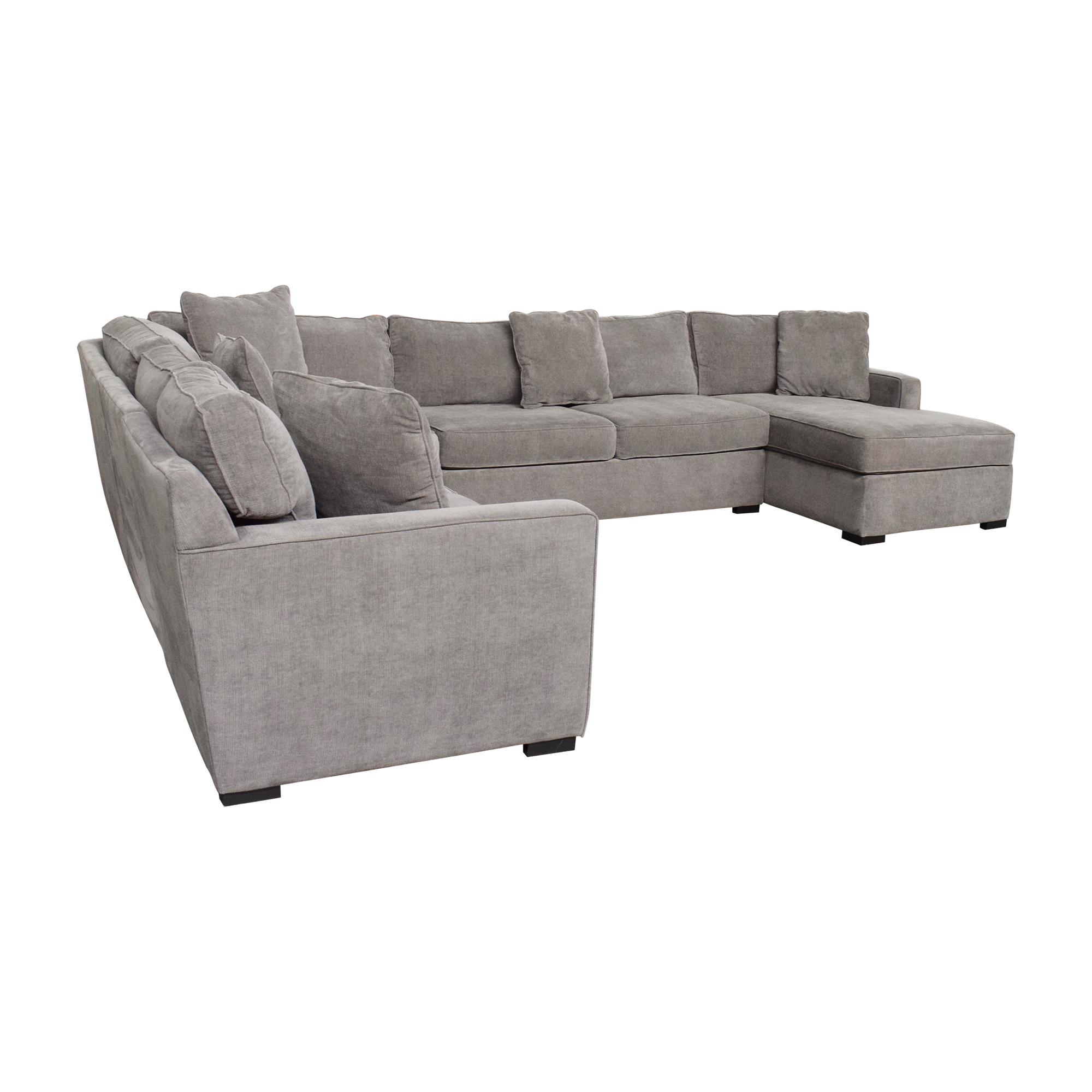 Macy's Macy's U-Shaped Chaise Sectional Sofa on sale