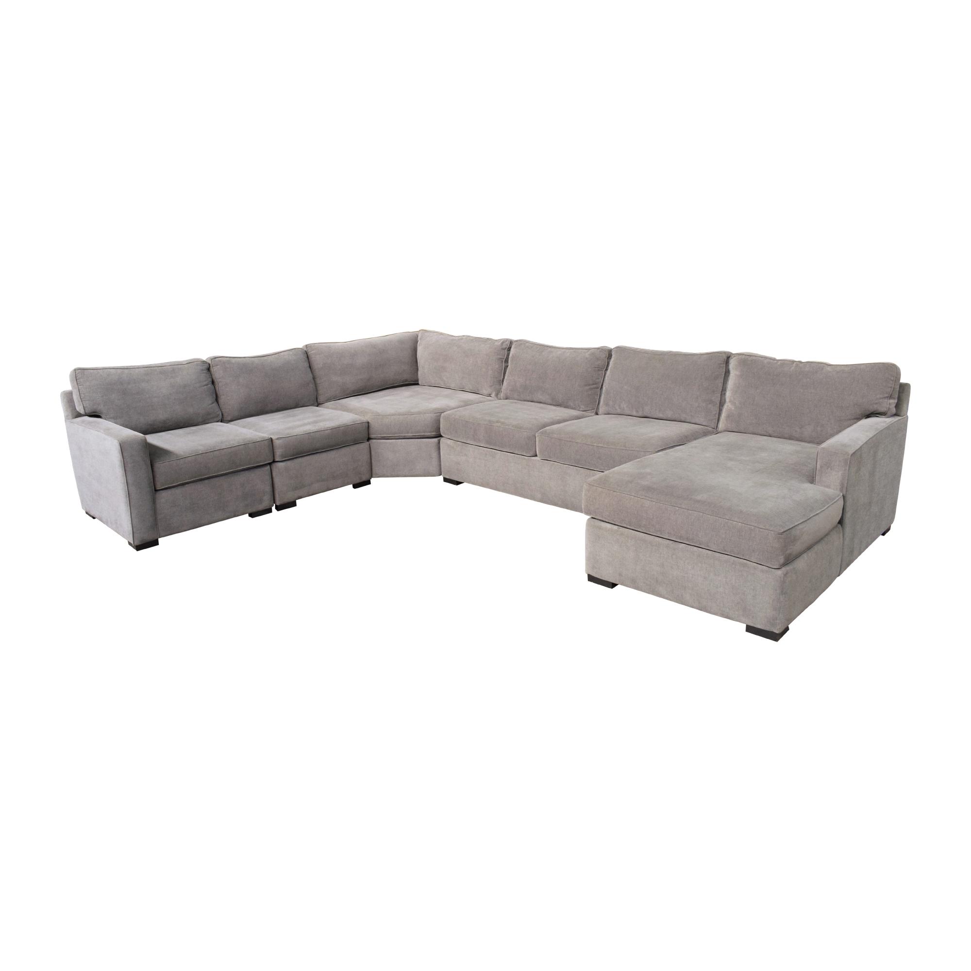 Macy's U-Shaped Chaise Sectional Sofa / Sofas
