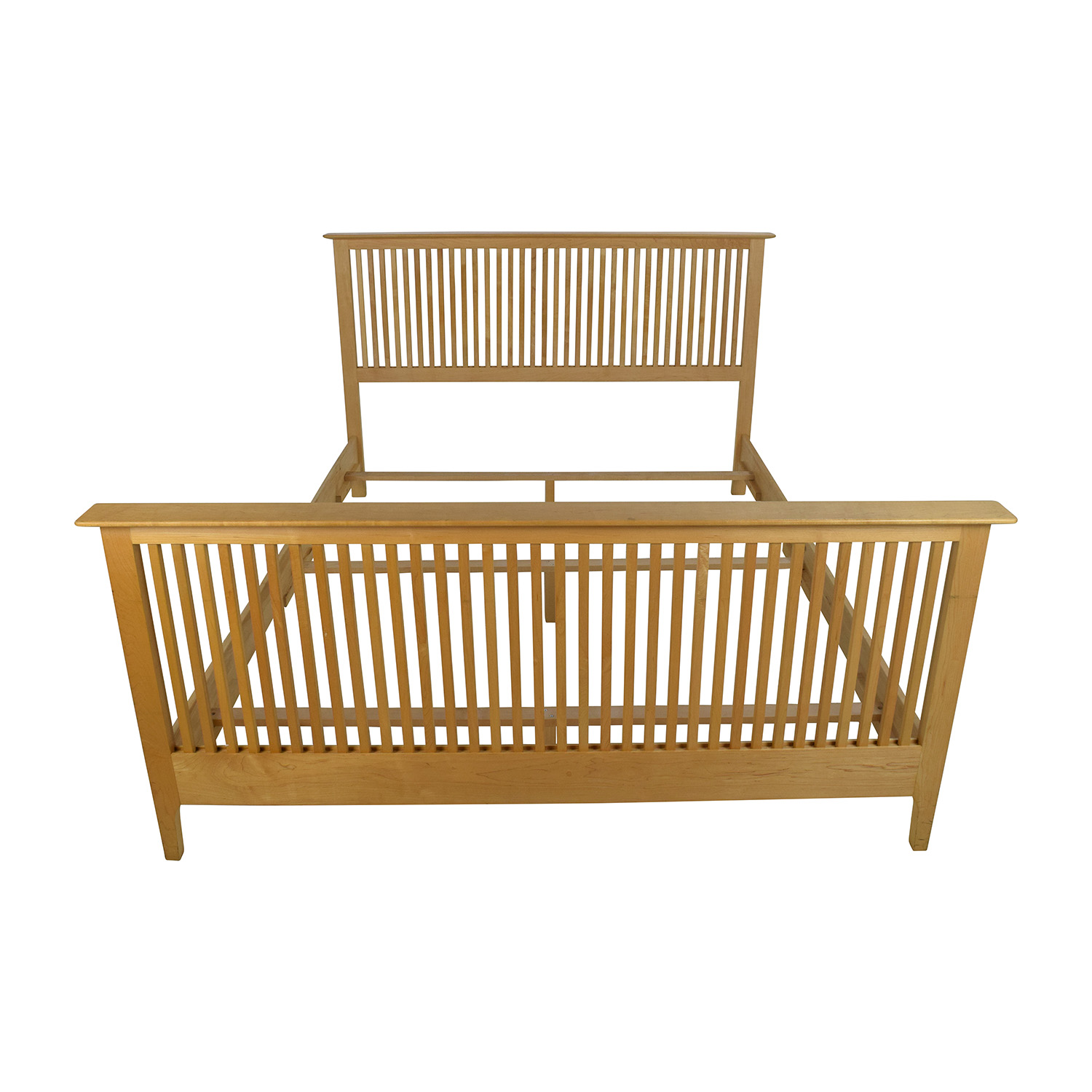 Copeland Solid Maple Shaker Queen Bed Frame / Bed Frames