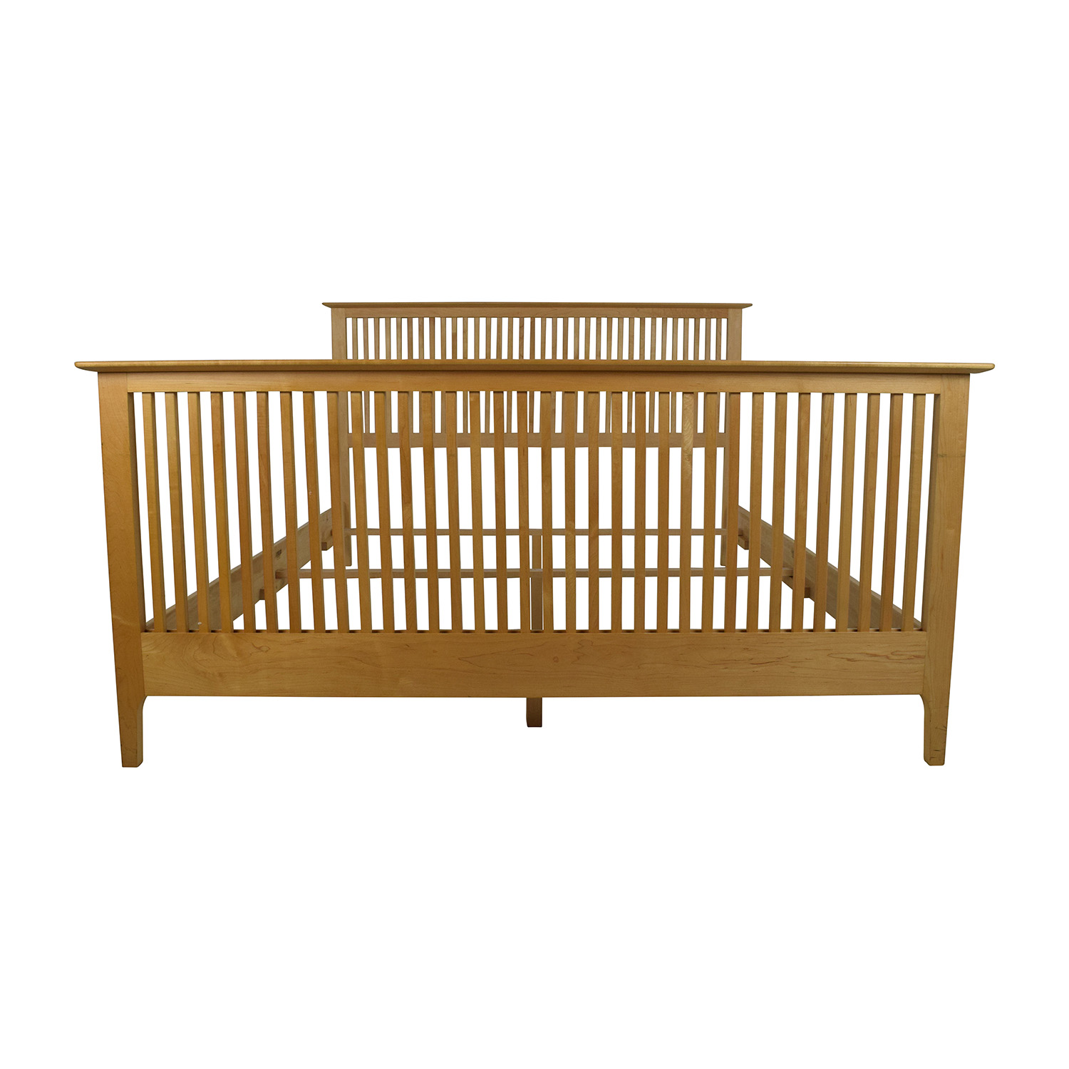 Copeland Copeland Solid Maple Shaker Queen Bed Frame nyc