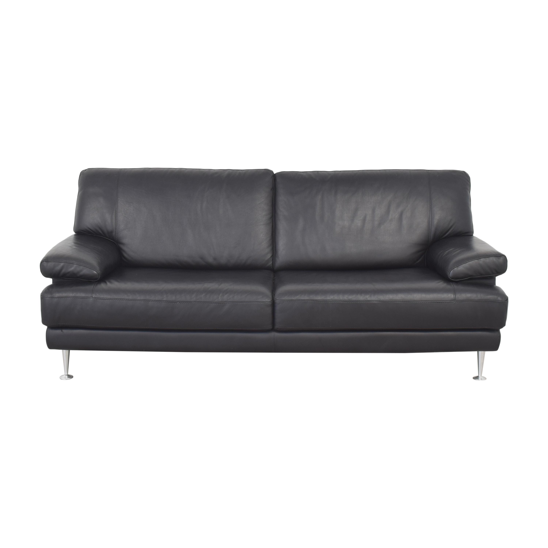Nicoletti Home Nicoletti Home Italian Leather Sofa Classic Sofas