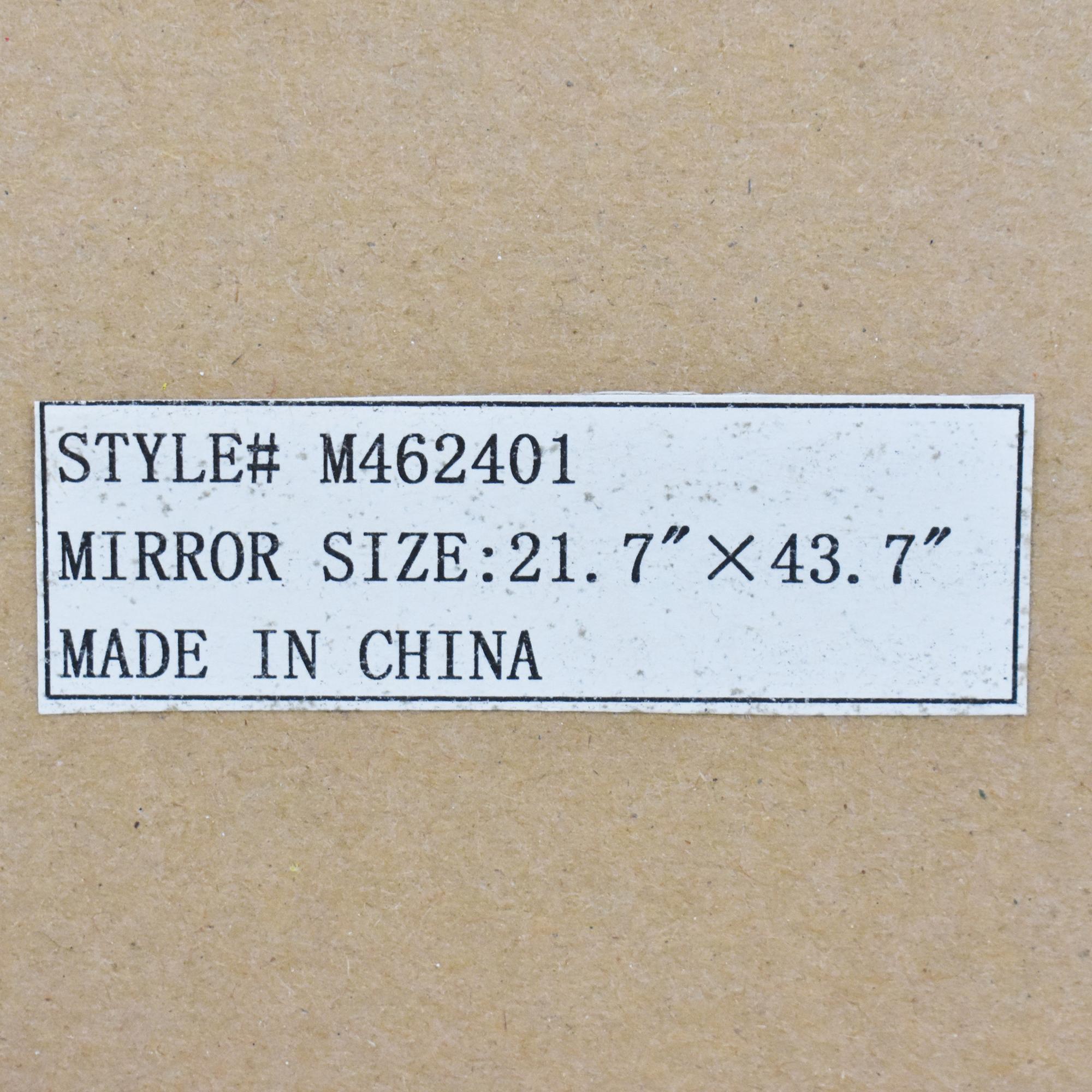 Overstock Overstock Neopolitan Wall Mirror Mirrors