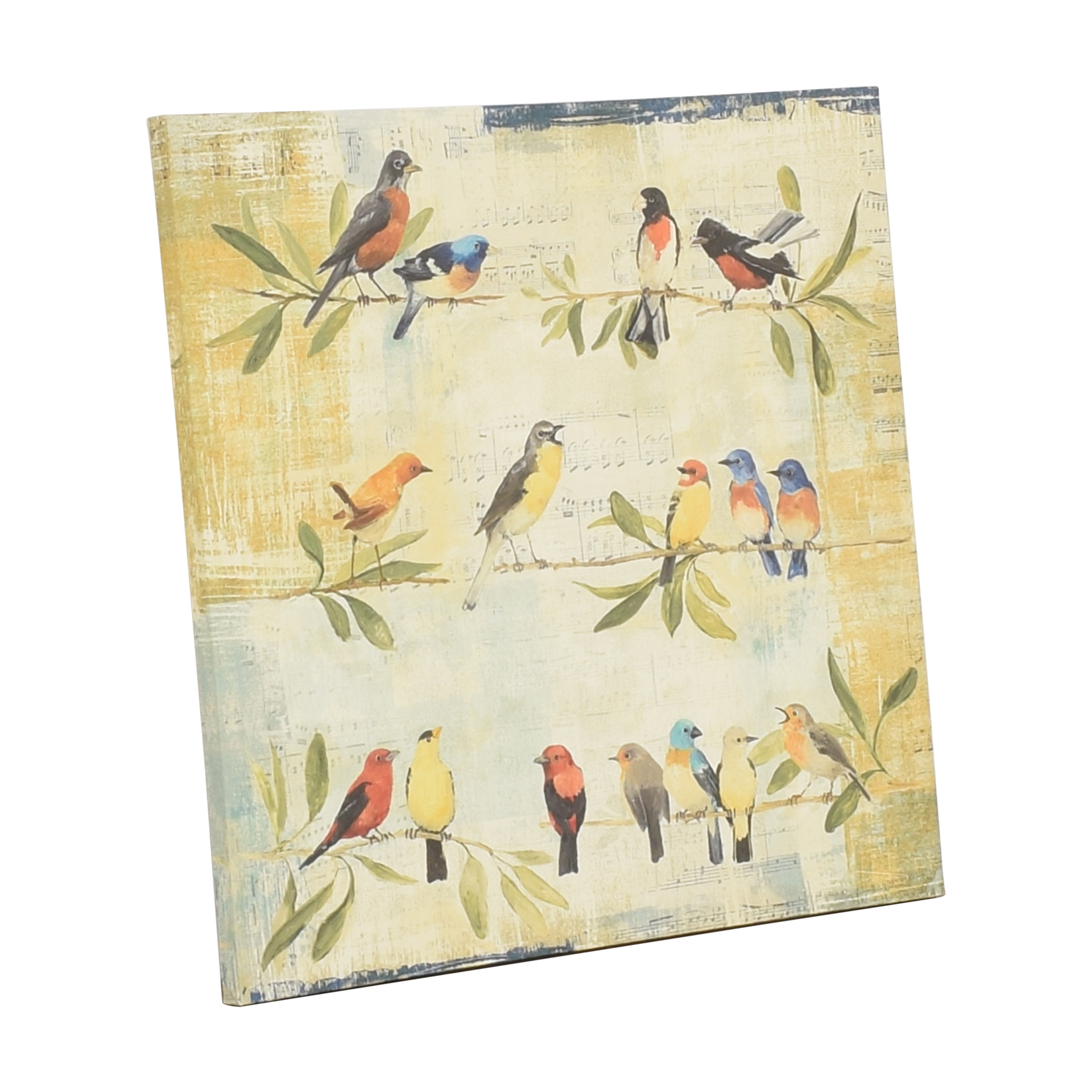 Macy's Macy's Adoration of the Magpie Music Canvas Wall Art pa