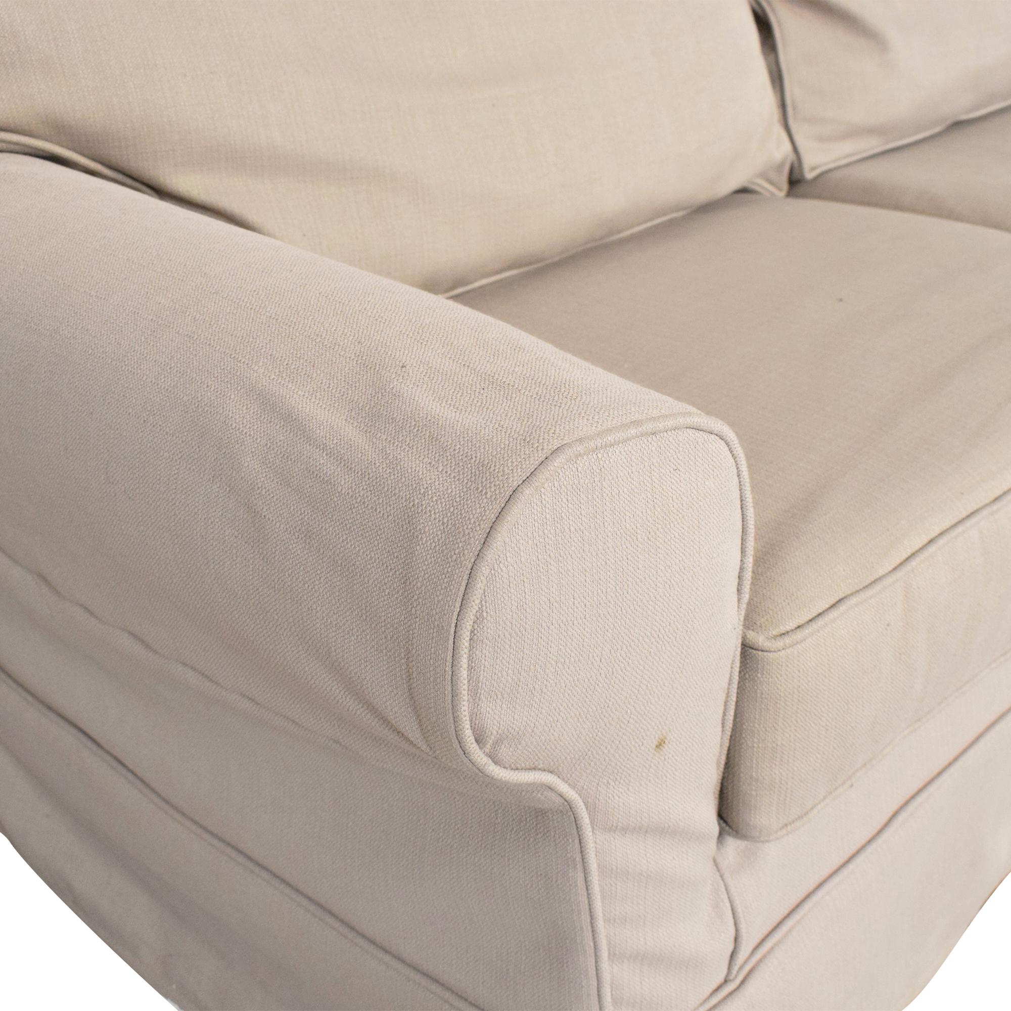 Mitchell Gold + Bob Williams Mitchell Gold + Bob Williams Slipcover Sofa nude