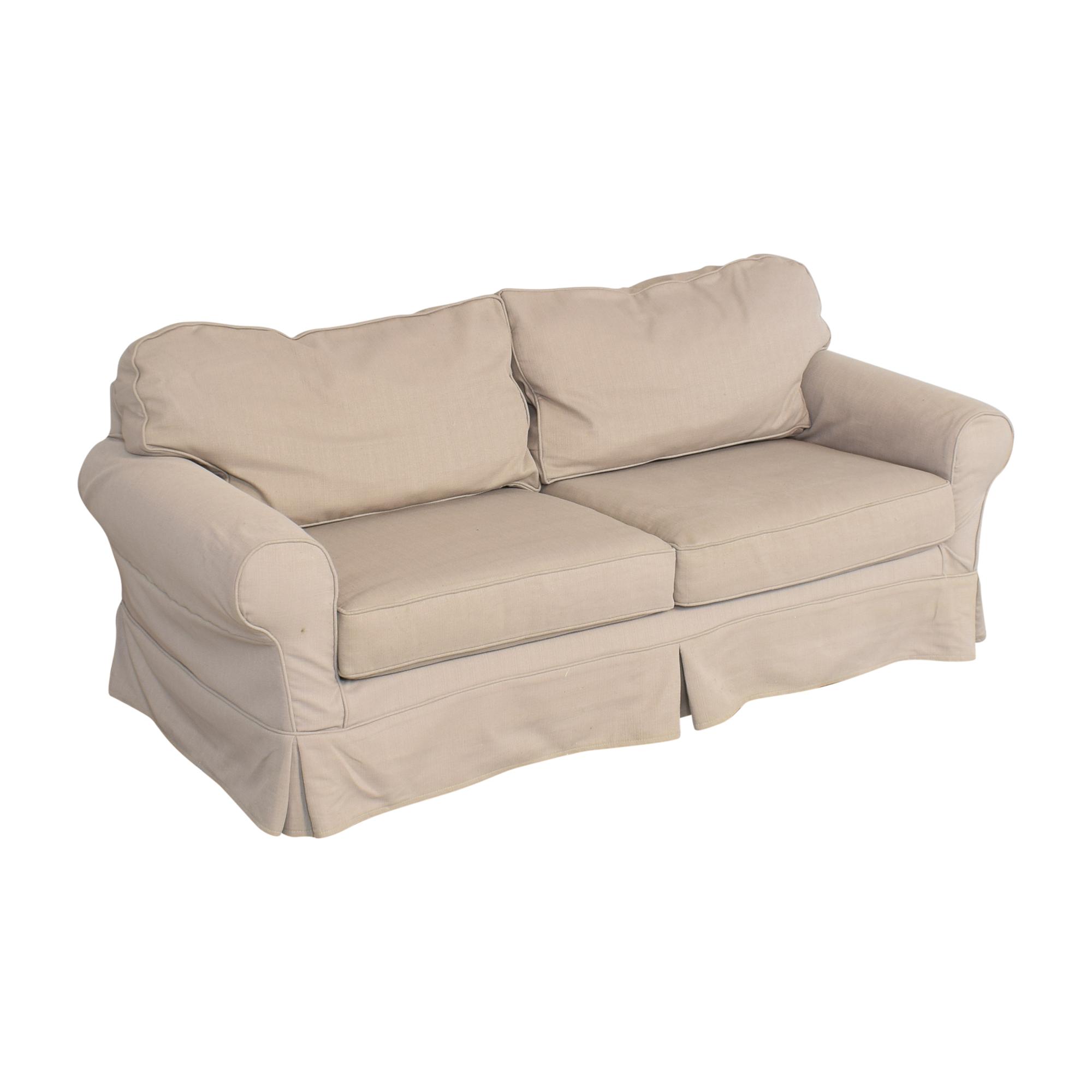 Mitchell Gold + Bob Williams Mitchell Gold + Bob Williams Slipcover Sofa used