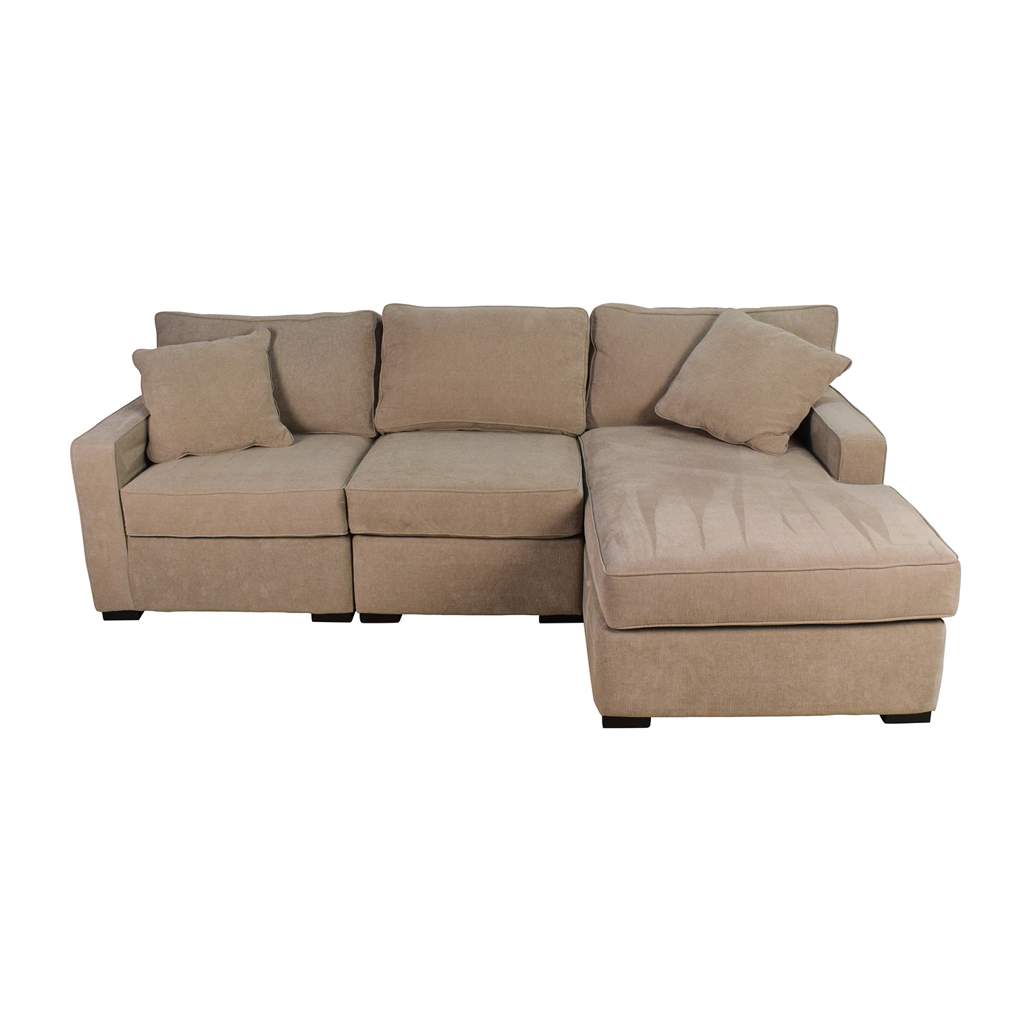 37 Off Macy S Radley 3 Piece Fabric Chaise Sectional