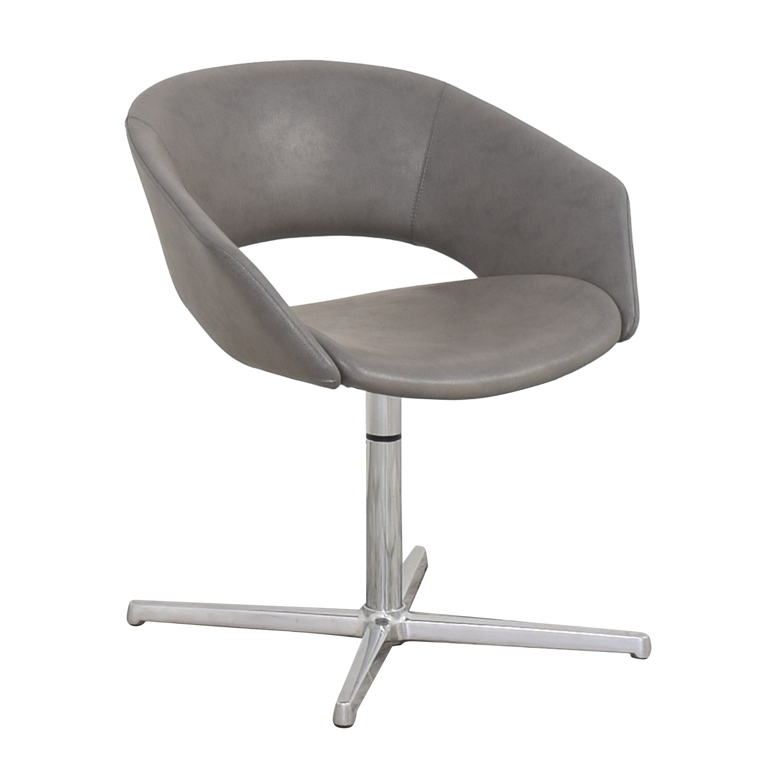 Leland International Leland Mod Pedestal Swivel Chair ma