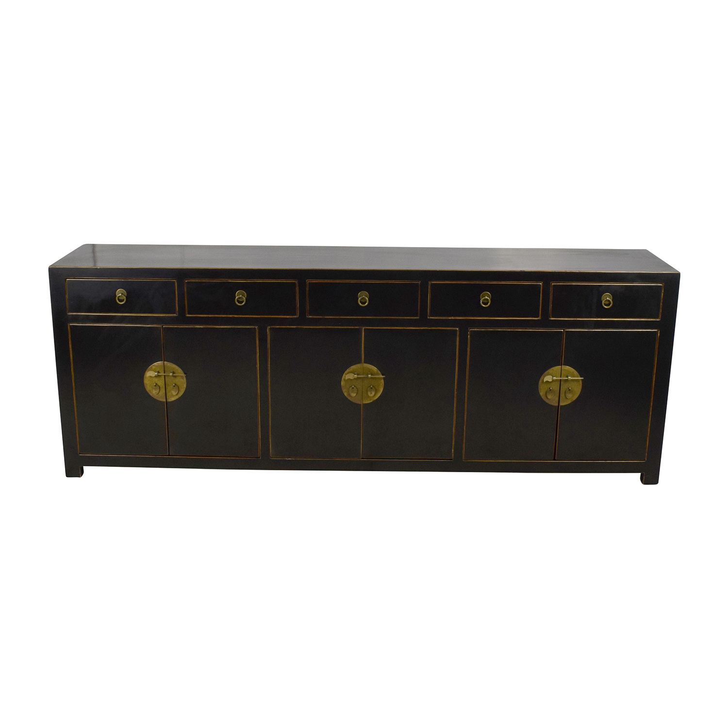 85 off custom made black drawer and cabinet sideboard for Cupboard and drawers