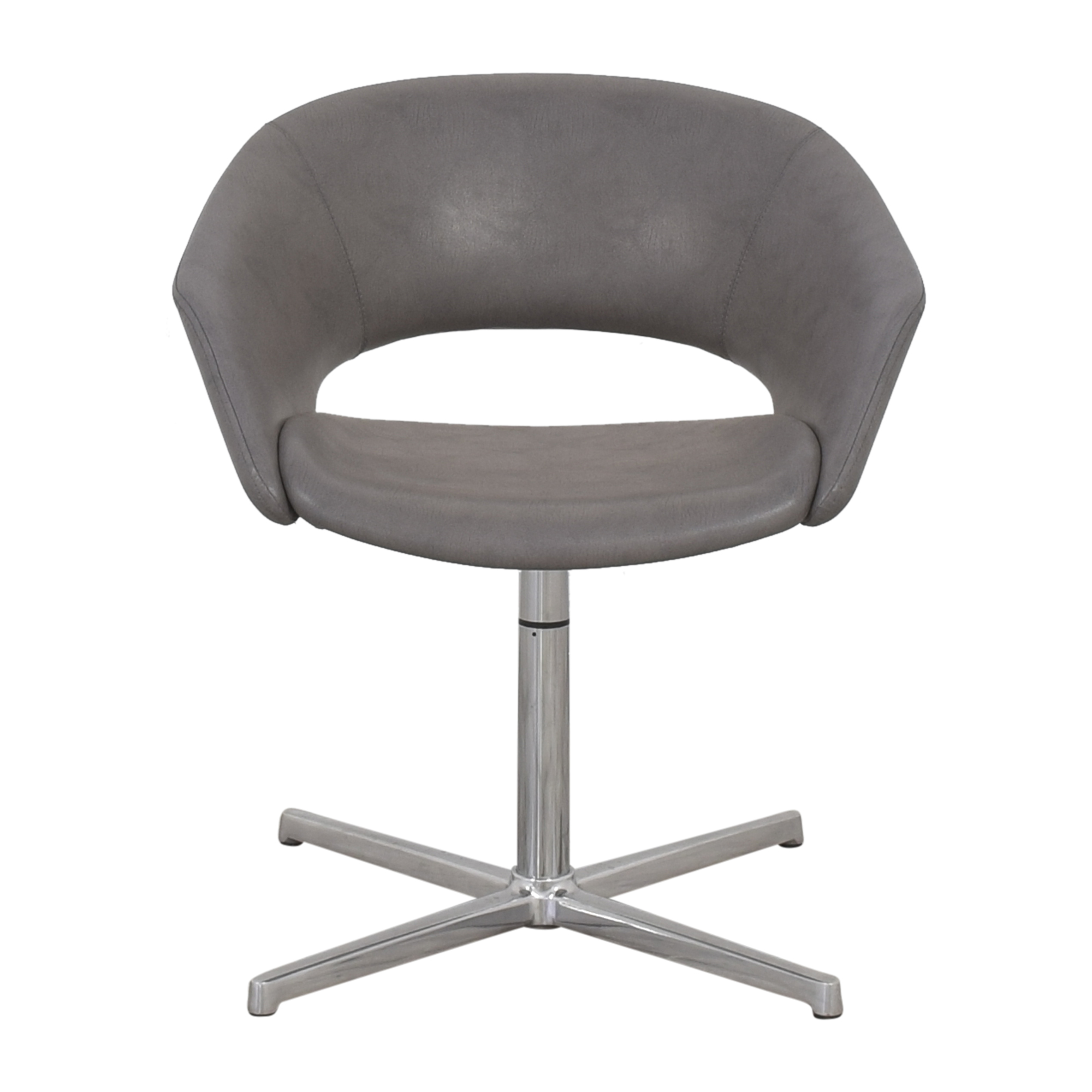 buy Leland Mod Pedestal Swivel Chair Leland International
