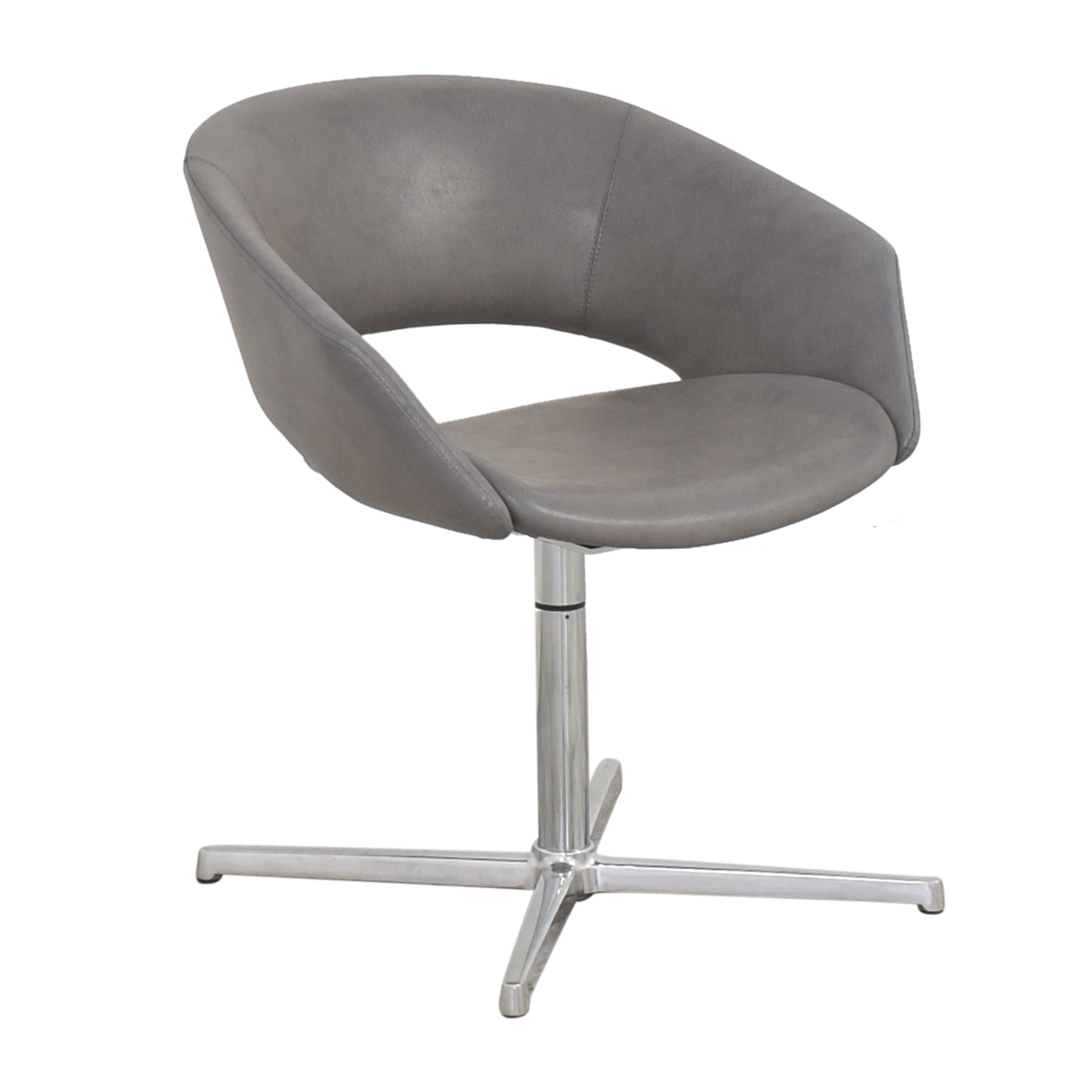 Leland International Leland Mod Pedestal Swivel Chair dimensions