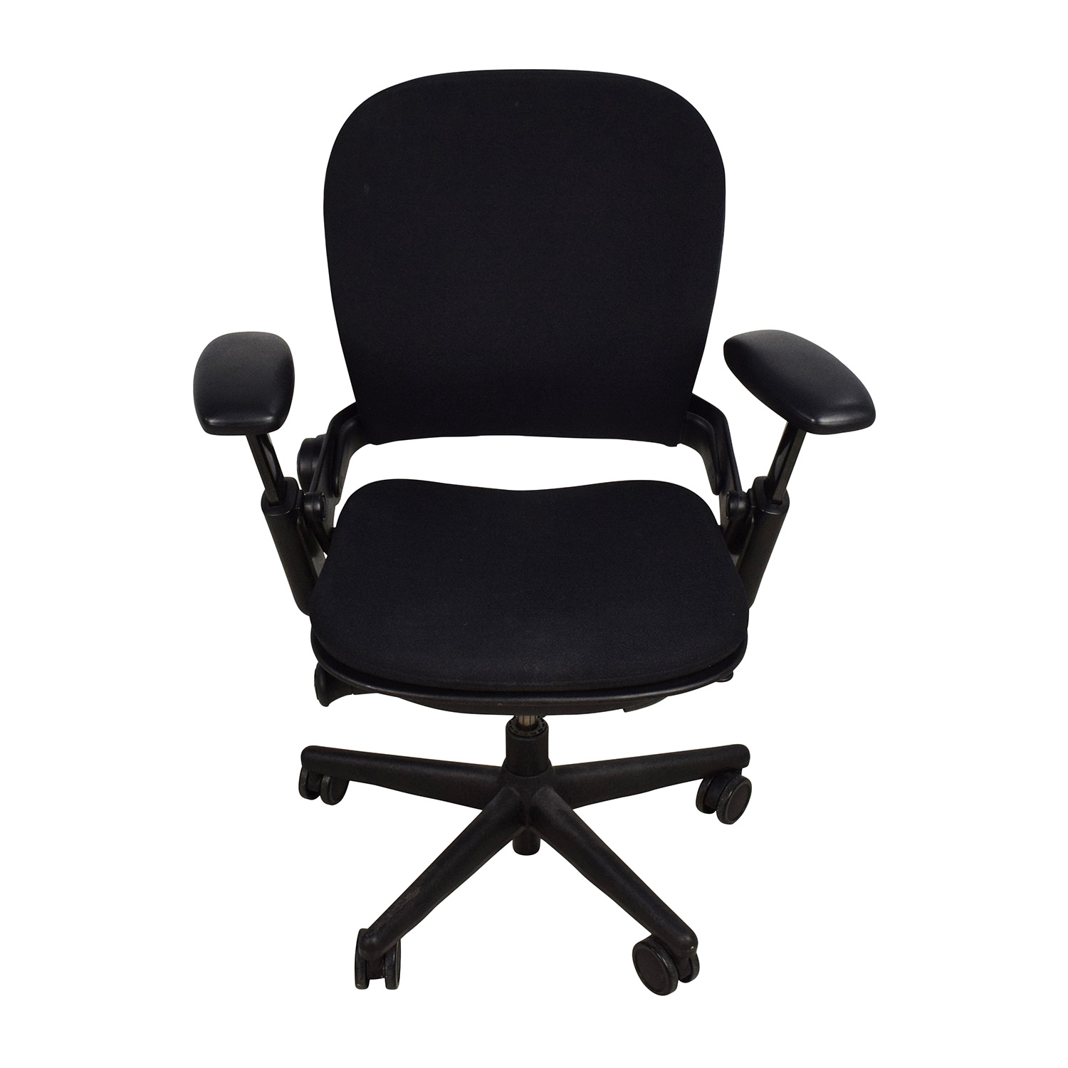 ... Adjustable Black Office Desk Chair Chairs ...